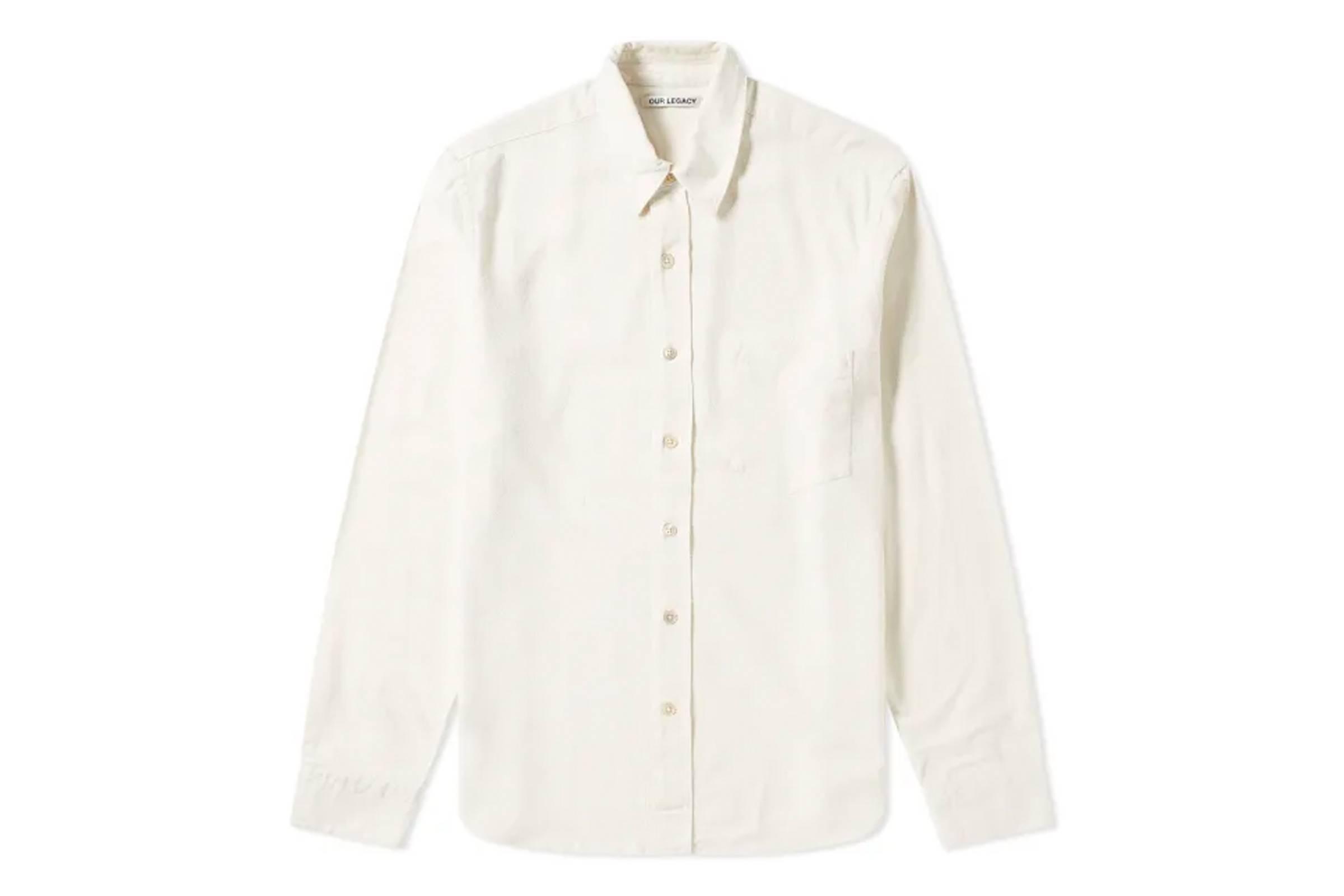 Our Legacy Sheer Silk Shirt