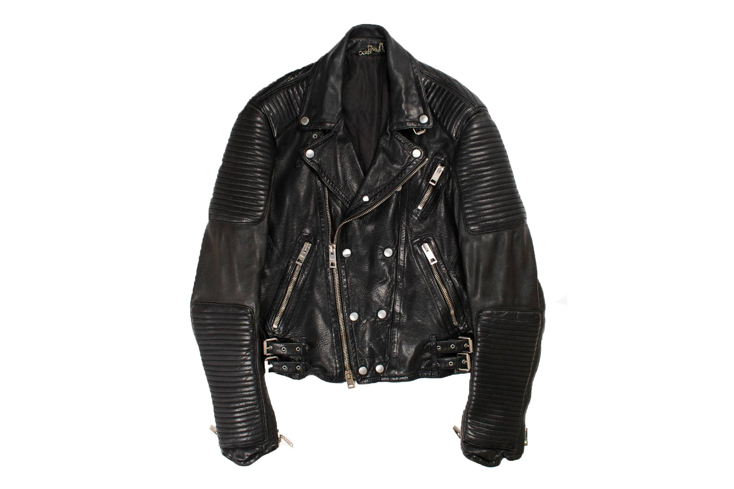 Burberry Prorsum Panelled Leather Biker Jacket