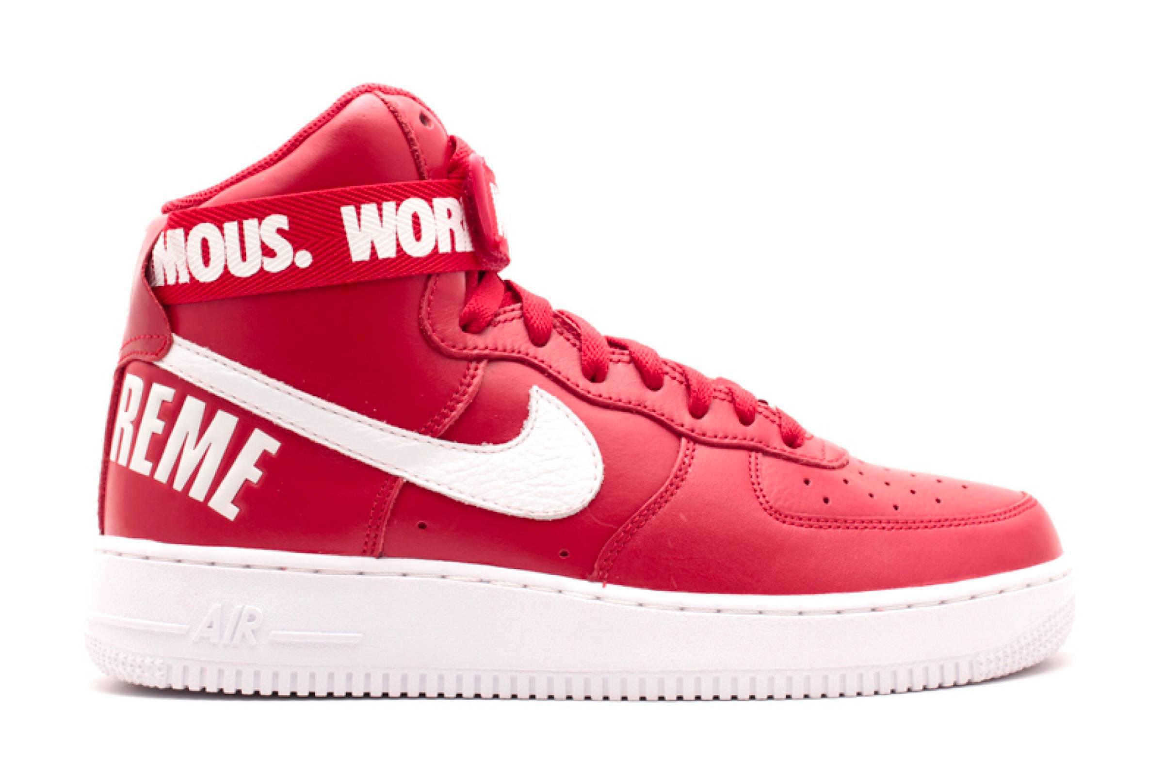 Supreme x Nike Air Force 1 High (2014)