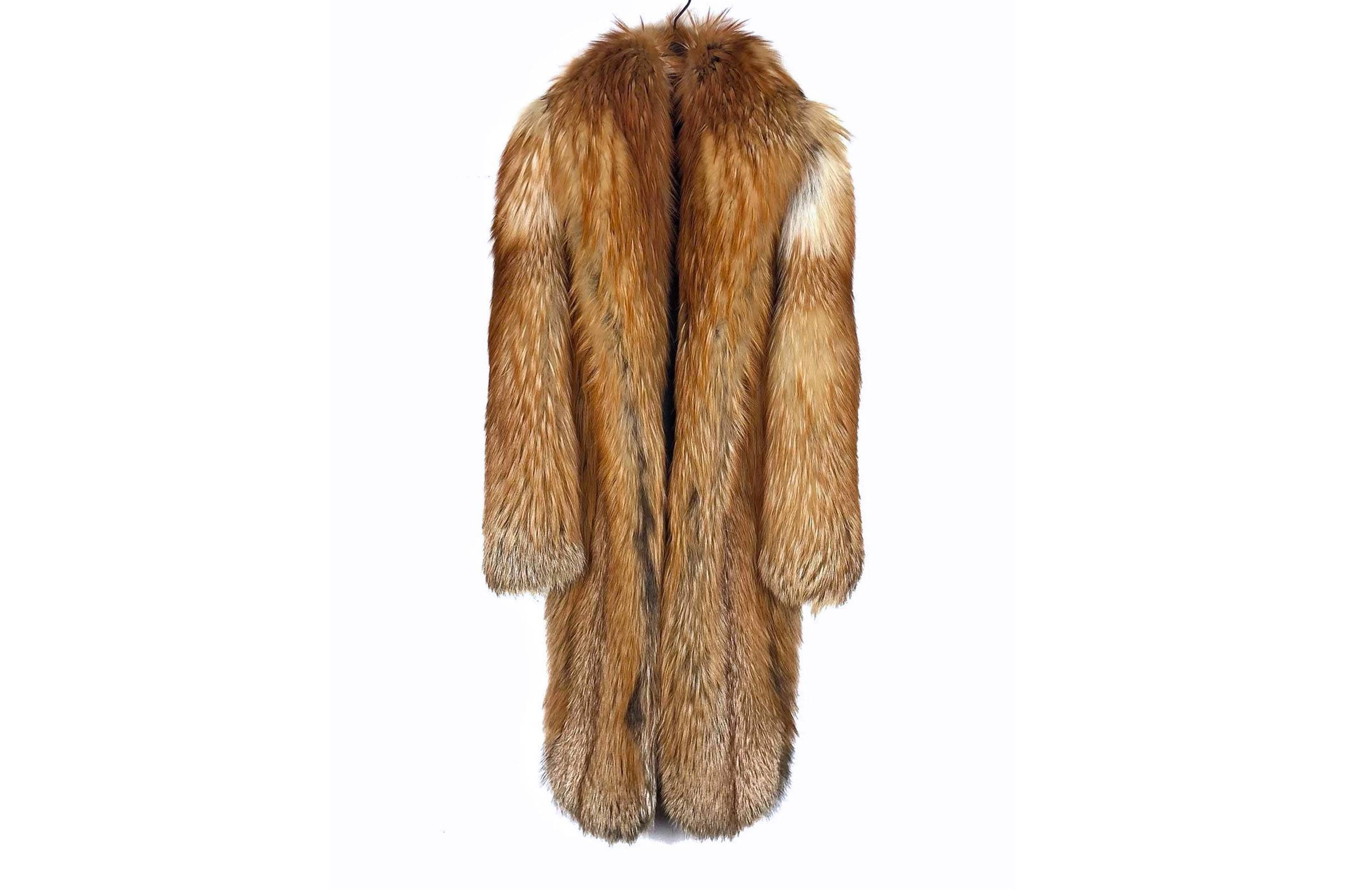 Dior Homme Fall/WInter 2006 Fox Fur Jacket