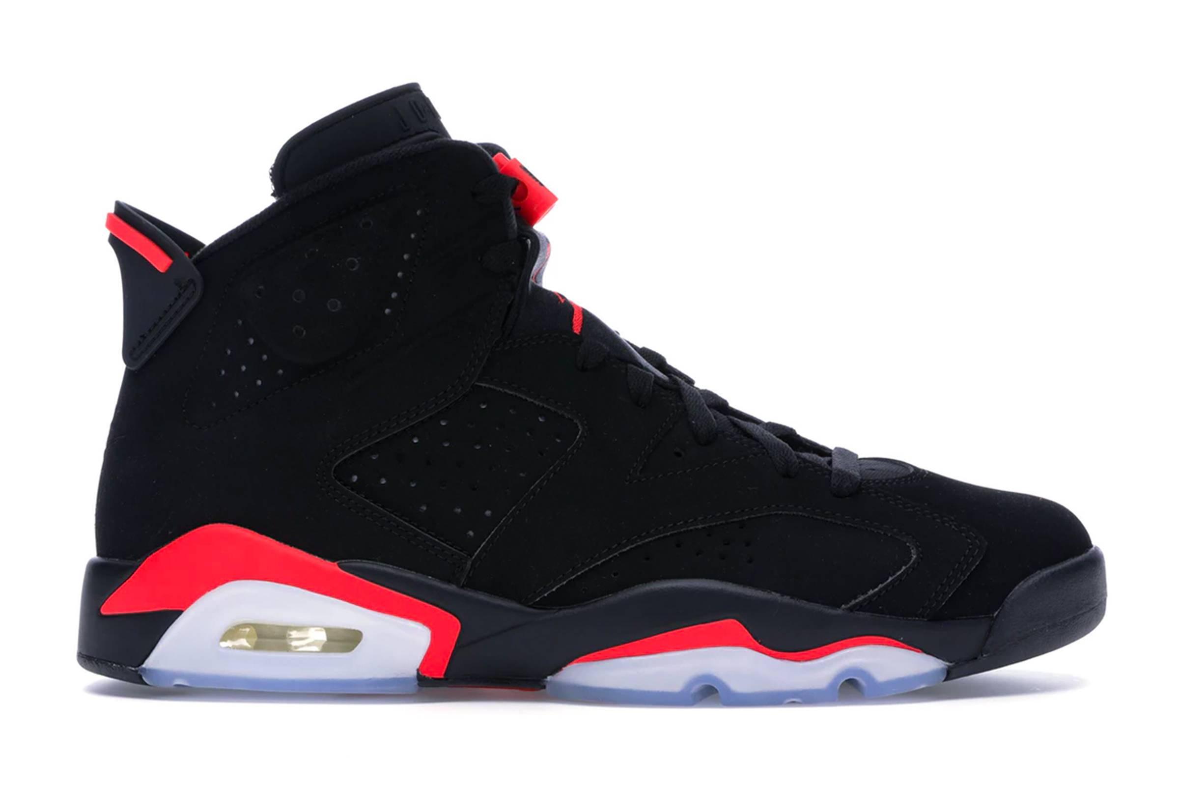 """Jordan VI """"Black/Infrared"""""""