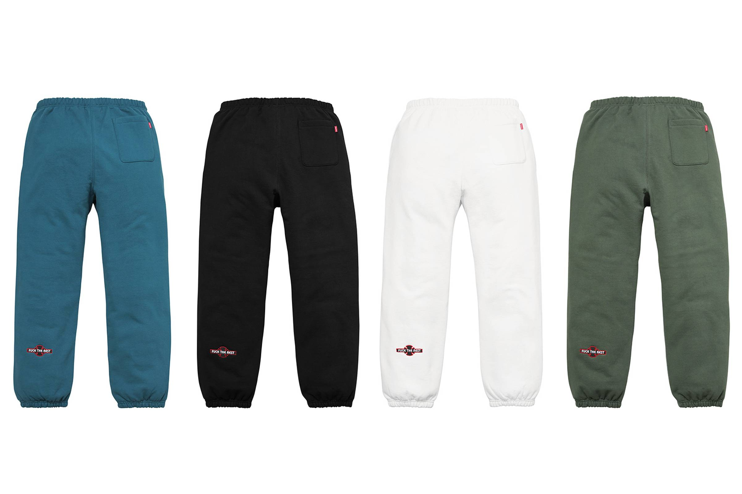 "Supreme x Independent ""Fuck The Rest"" Sweatpant"