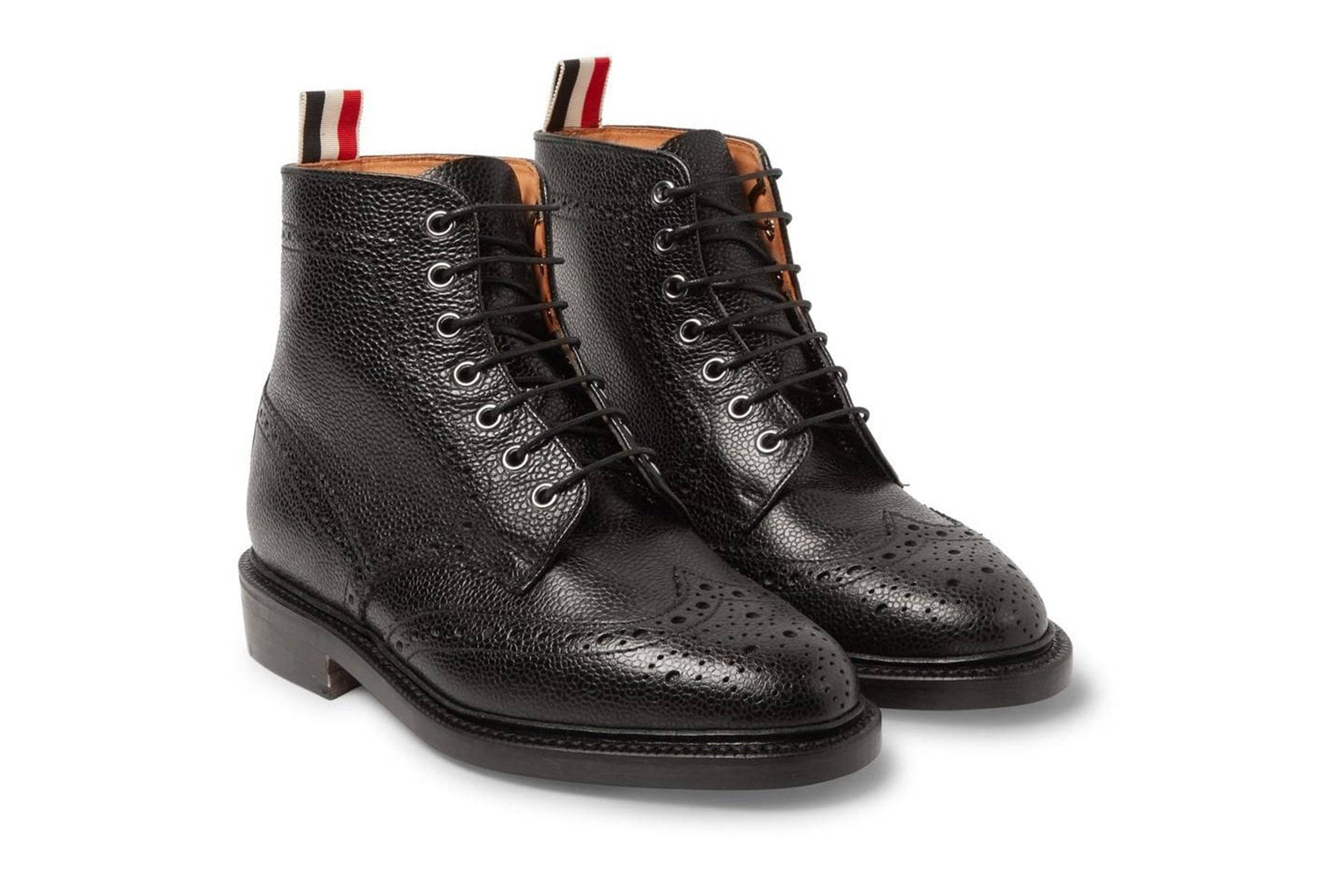 Thom Browne Brogue Boots