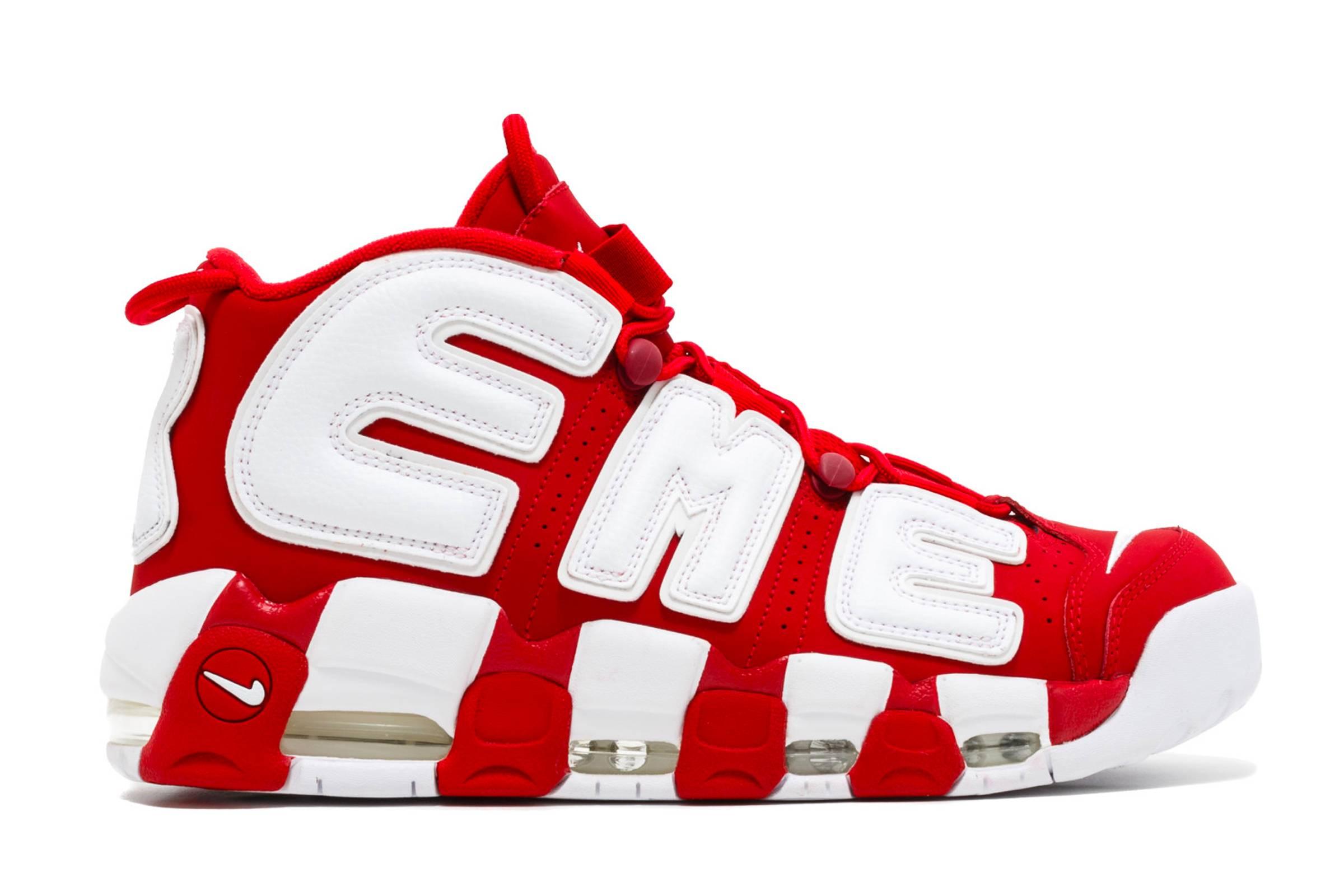 Supreme x Nike Air More Uptempo (2017)