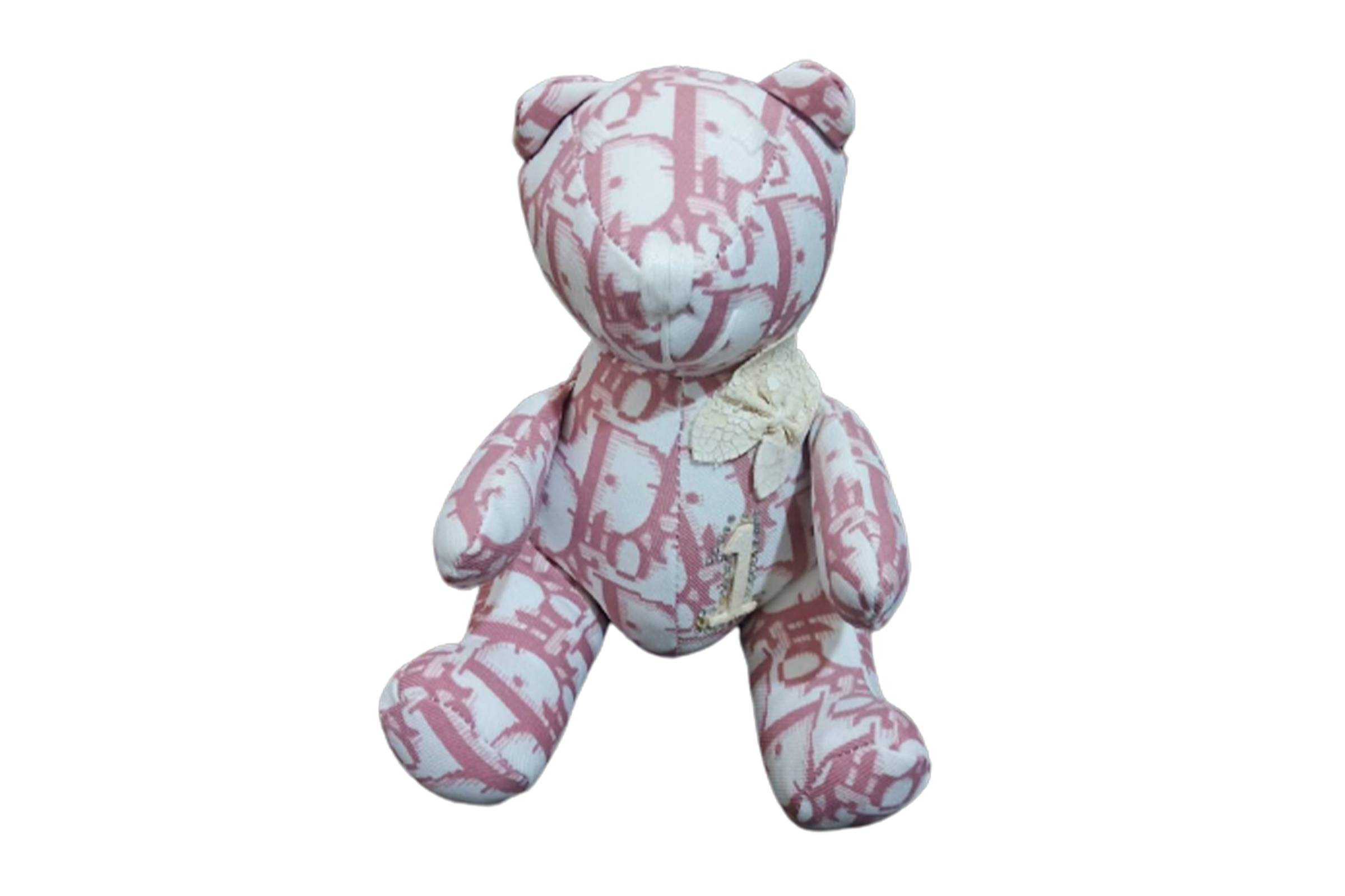 Dior Oblique Print Teddy Bear