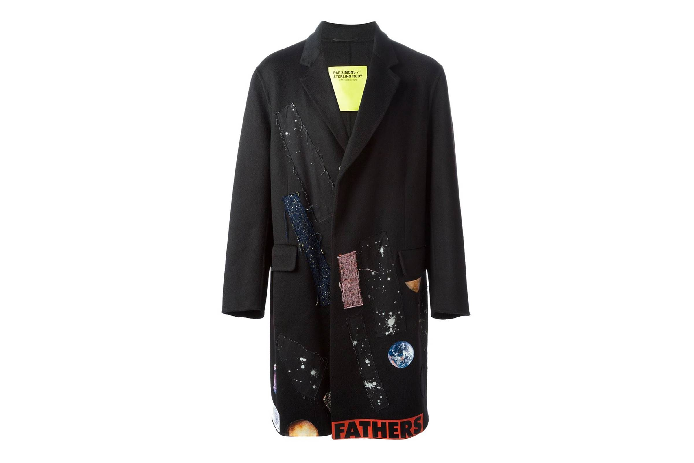 Raf Simons x Sterling Ruby Patch Coat
