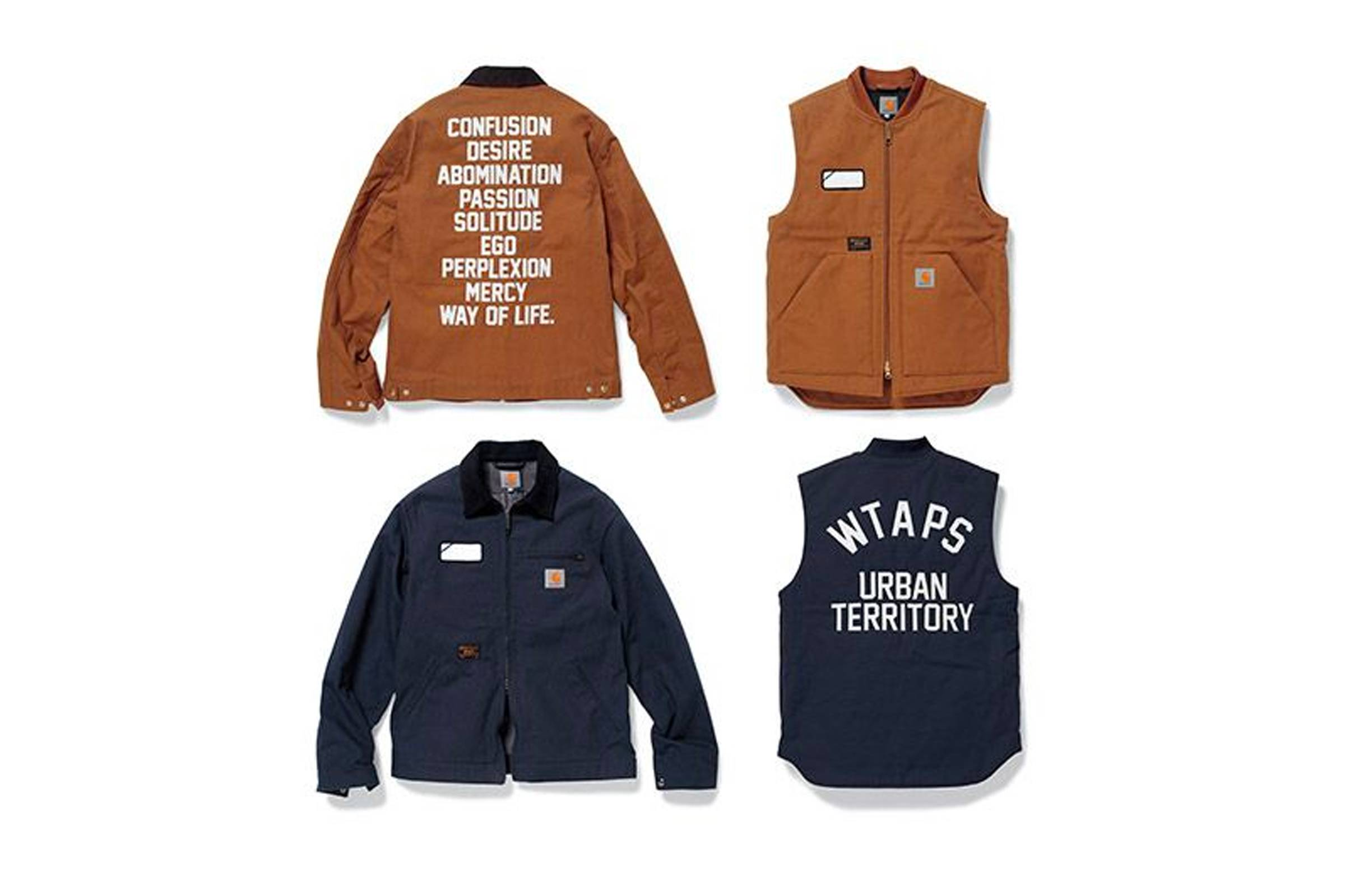 Carhartt W.I.P. x WTAPS Fall/Winter 2015
