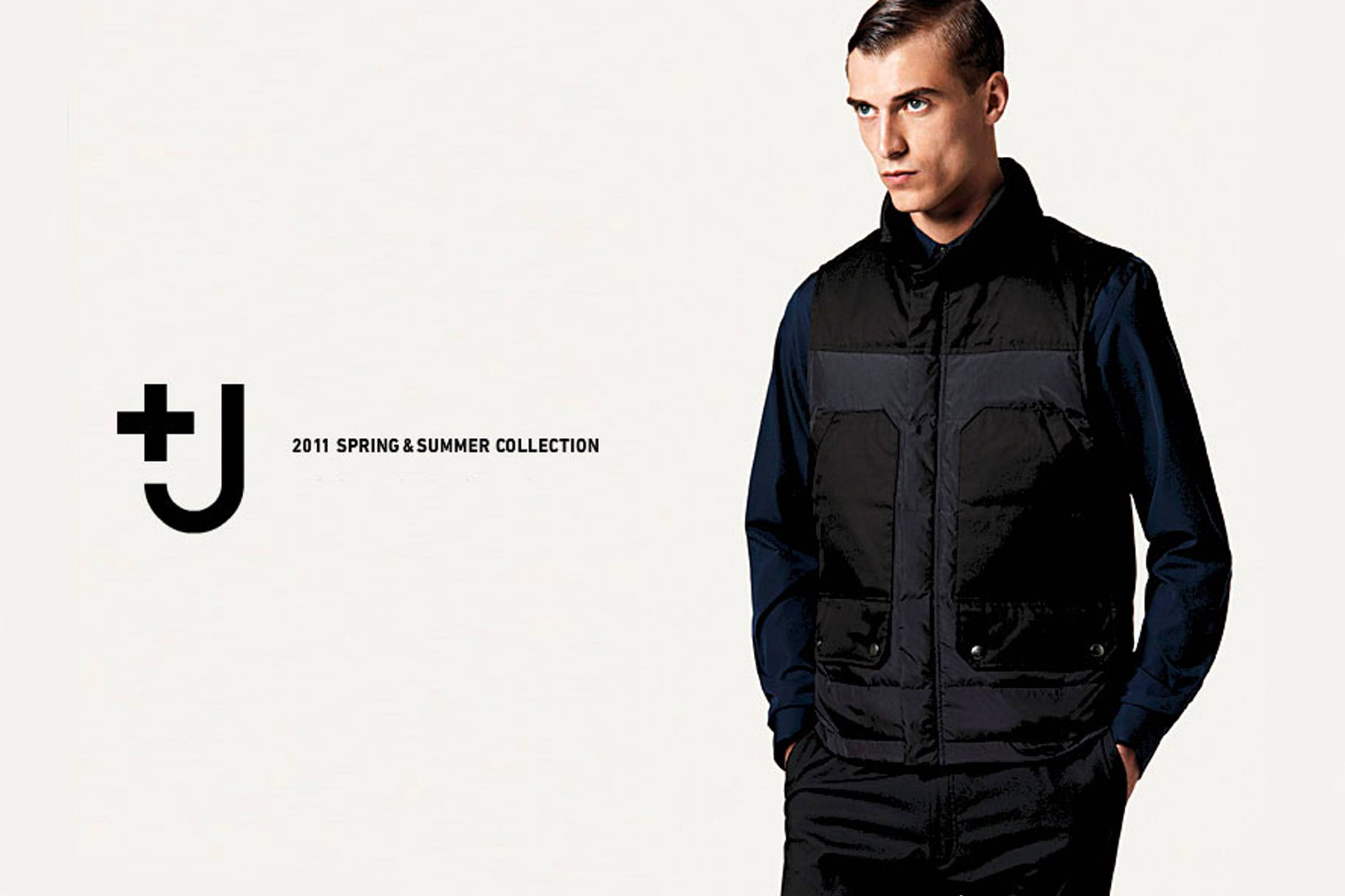 Ad from the Uniqlo +J Spring/Summer 2011 collection