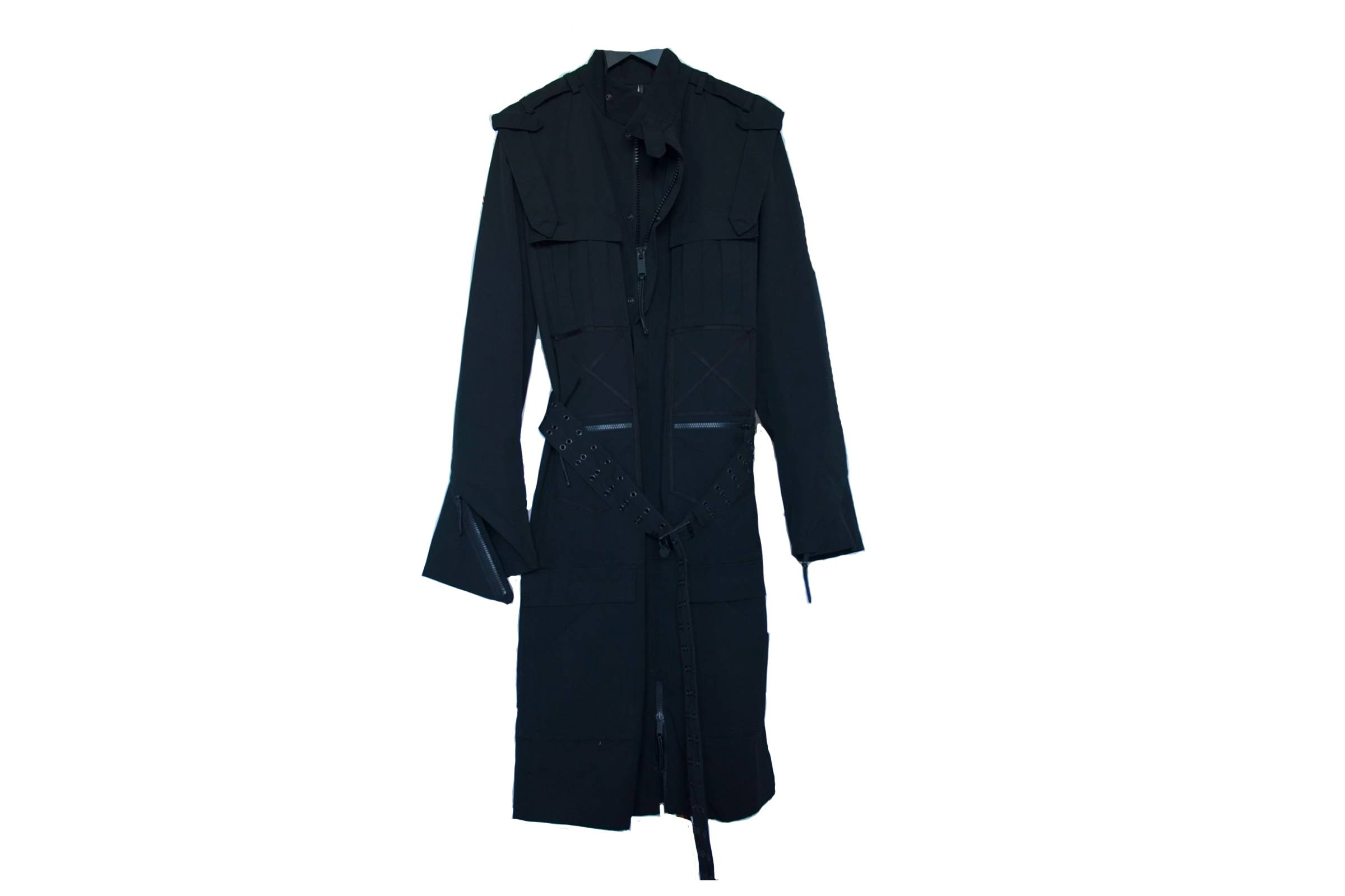 "Dior Homme ""Luster"" Trench Coat"