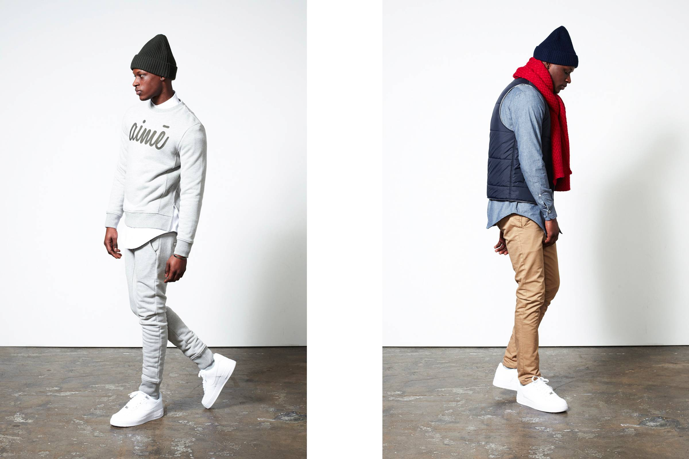 Looks from Aimé Leon Dore's debut first collection in 2014