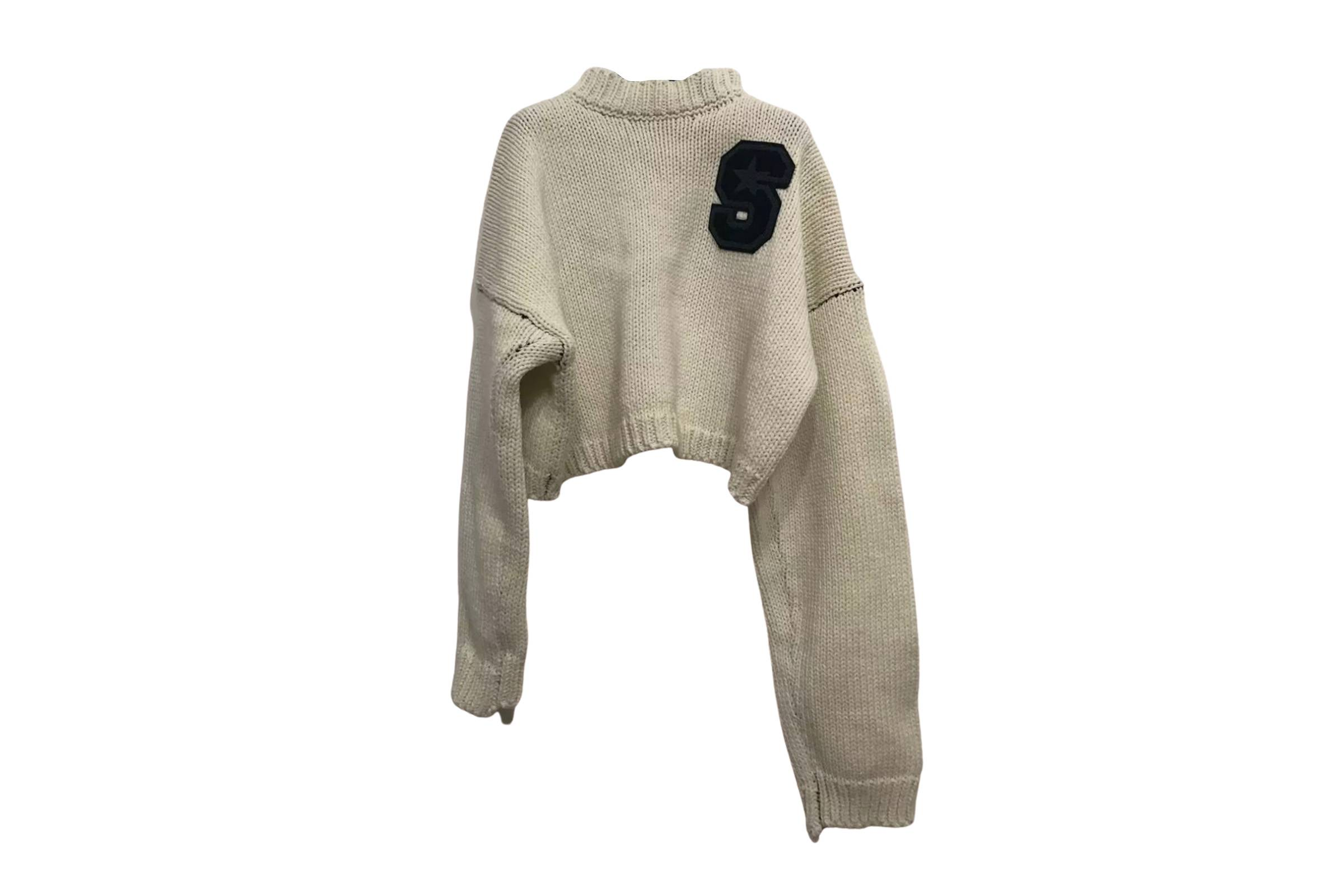Raf Simons Cropped Sweater