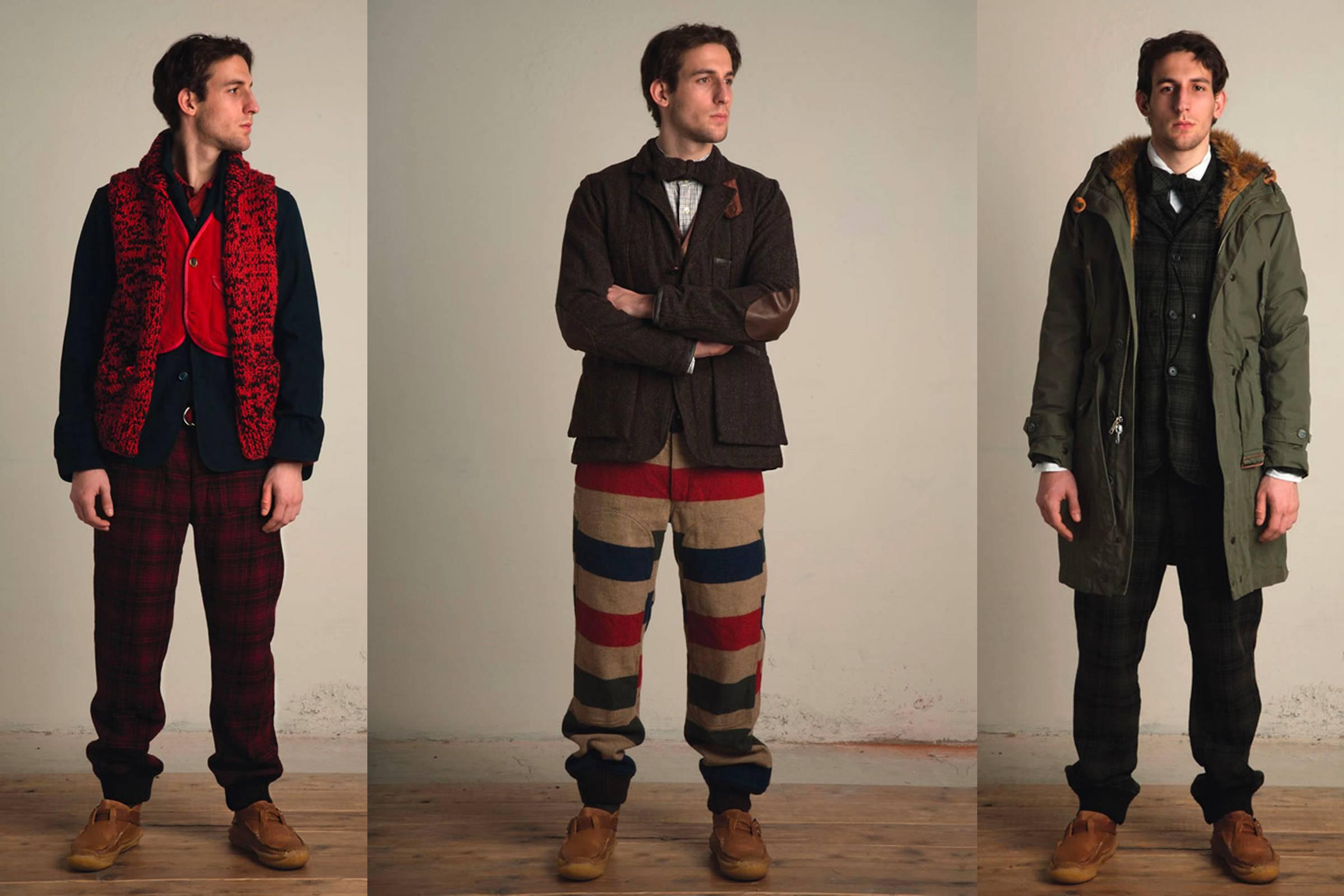 Looks from Woolrich Woolen Mills Fall/Winter 2009 collection, created under Daiki Suzuki's direction