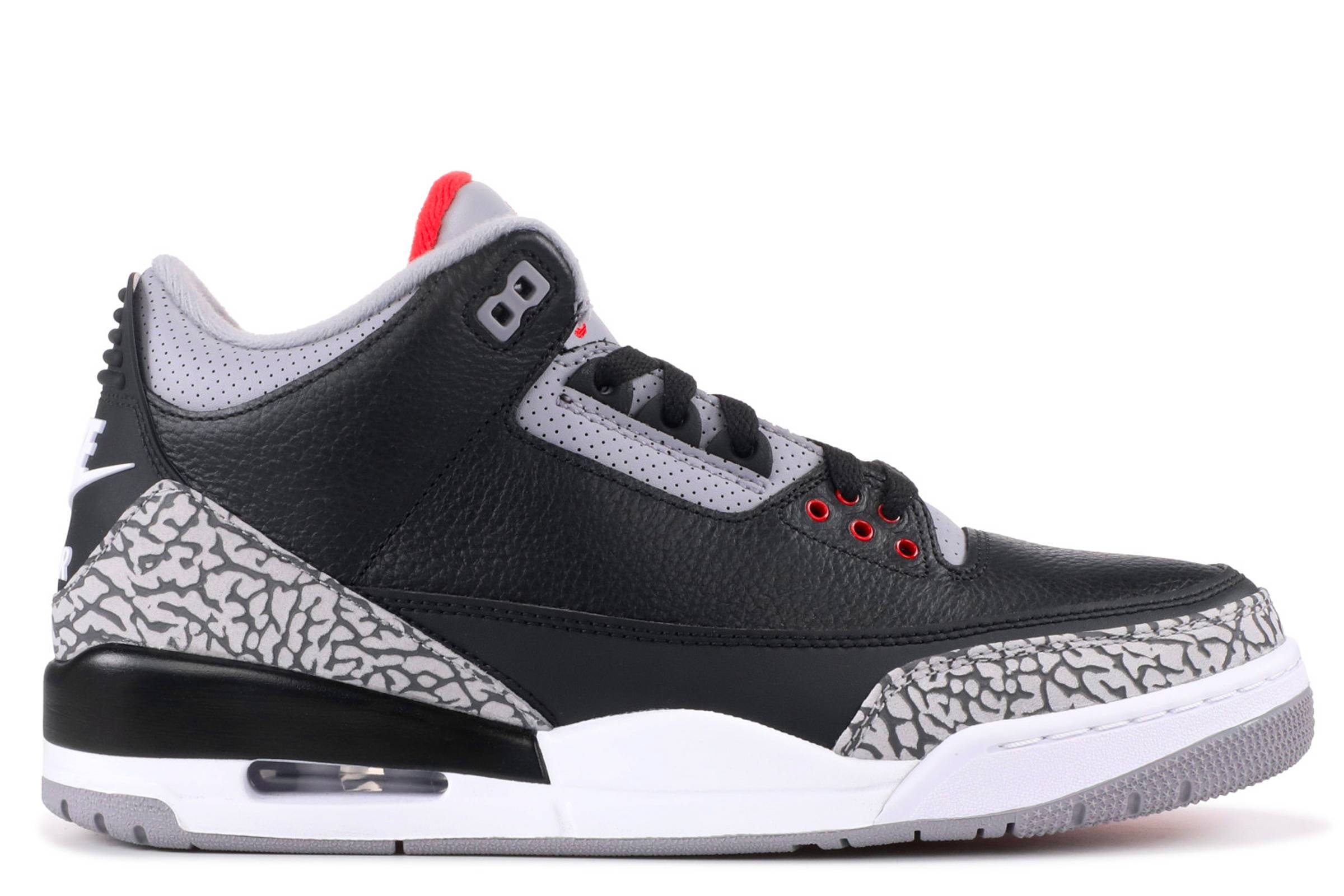 "Air Jordan III ""Black/Cement"""