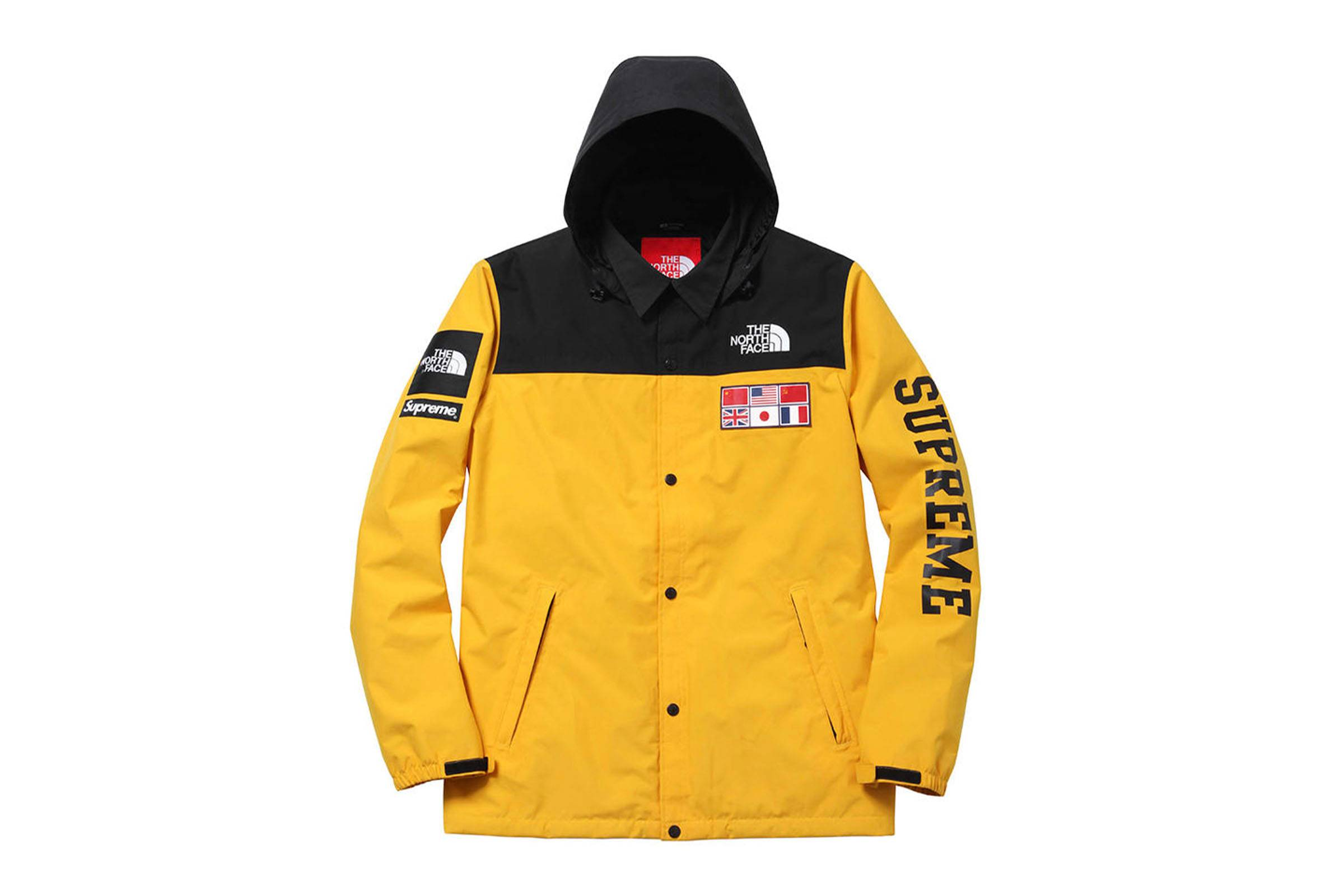 "Supreme x The North Face Spring/Summer 2014 ""Flags"" Expedition Coaches Jacket"