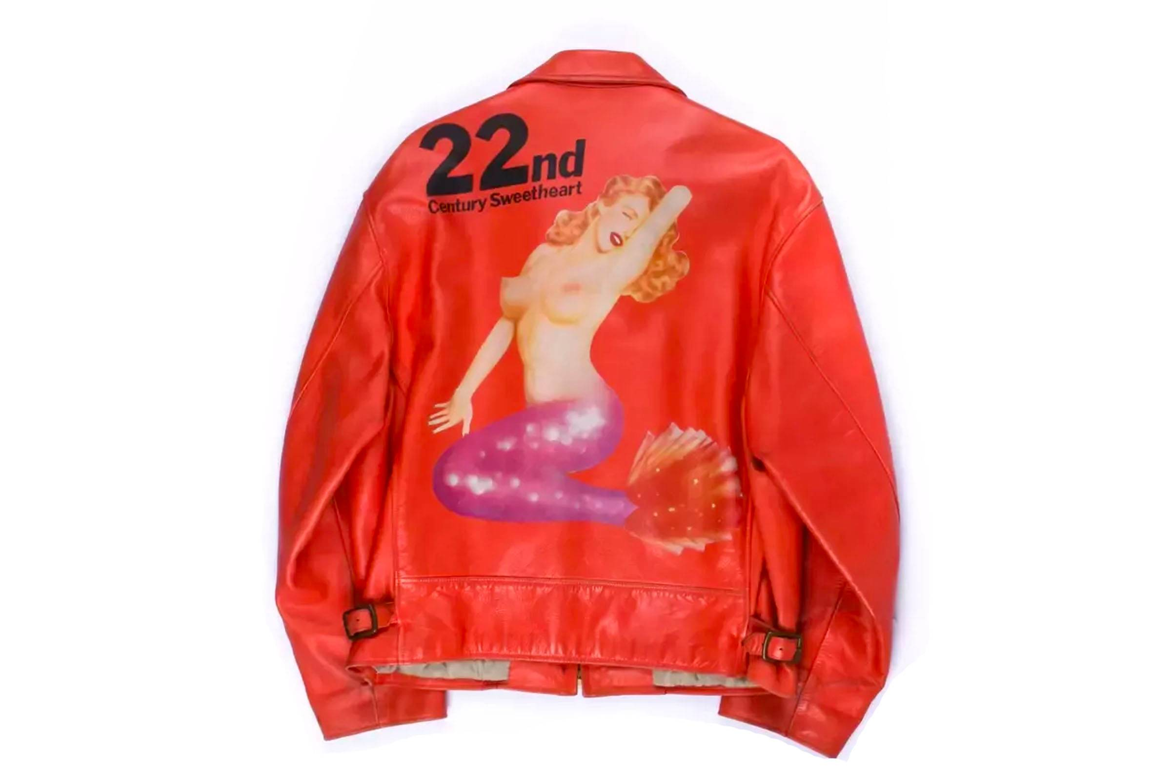 Yohji Yamamoto Painted Leather Jackets