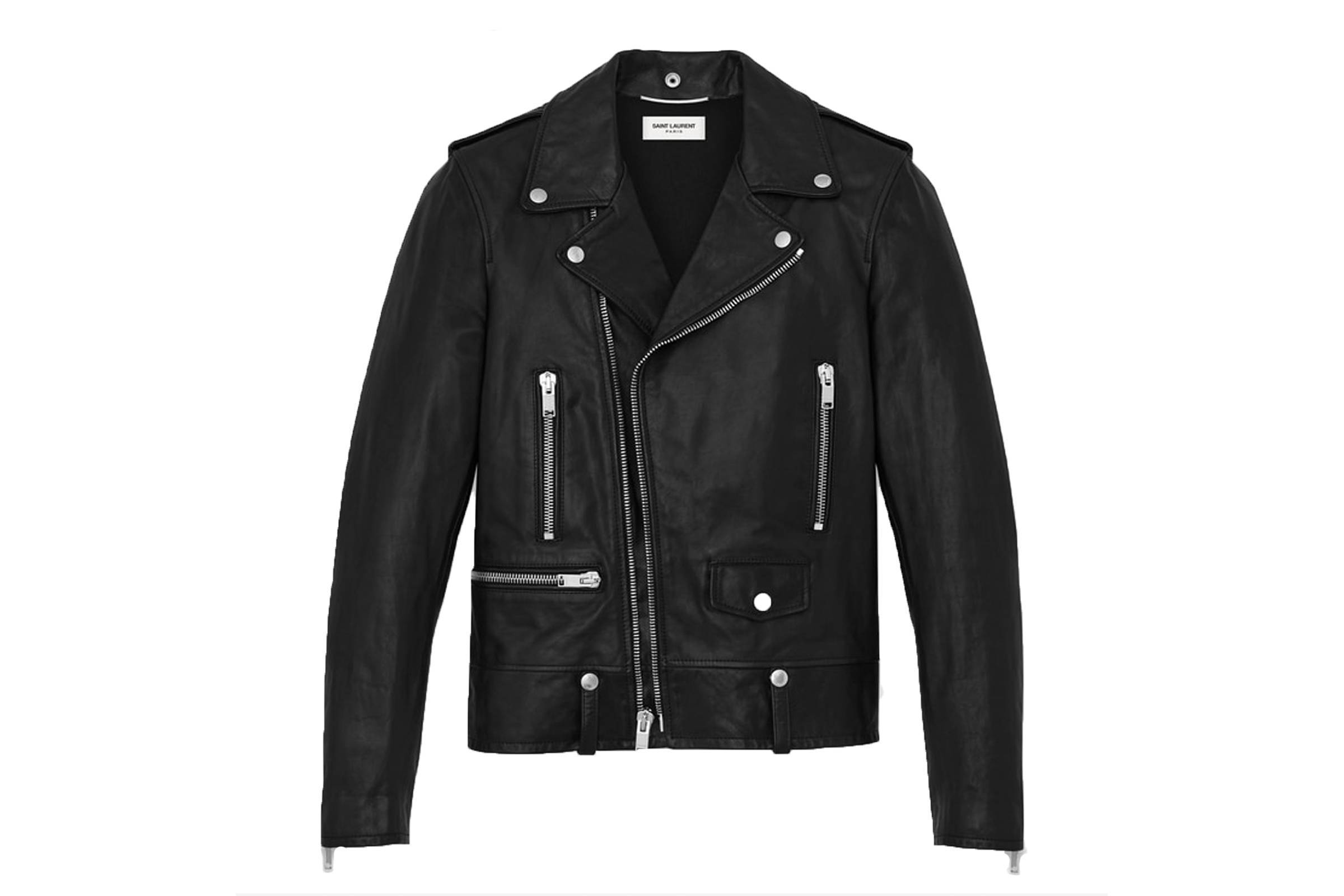 Saint Laurent Paris L17 Leather Jacket