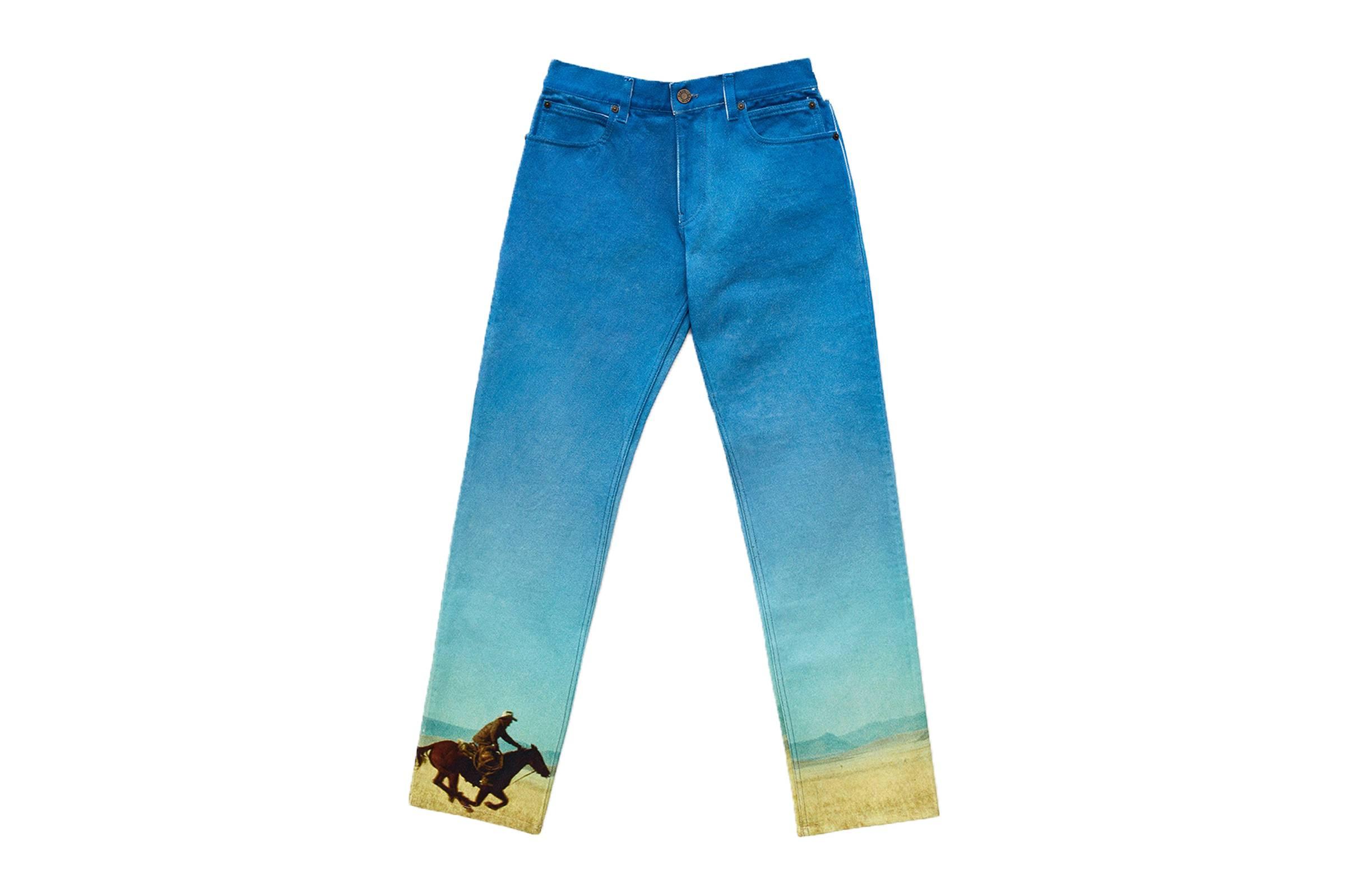 Calvin Klein 205W39NYC Landscape Cowboy Jeans