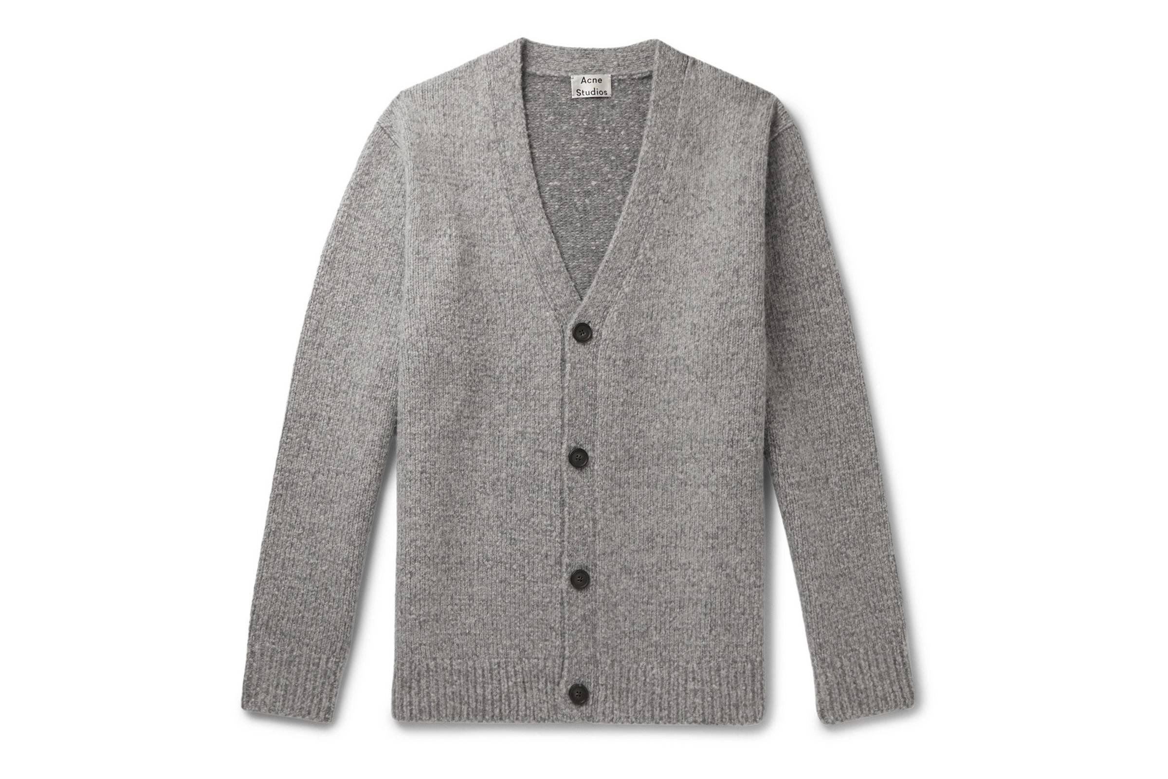 Acne Studios Kabelo Wool-Blend Cardigan