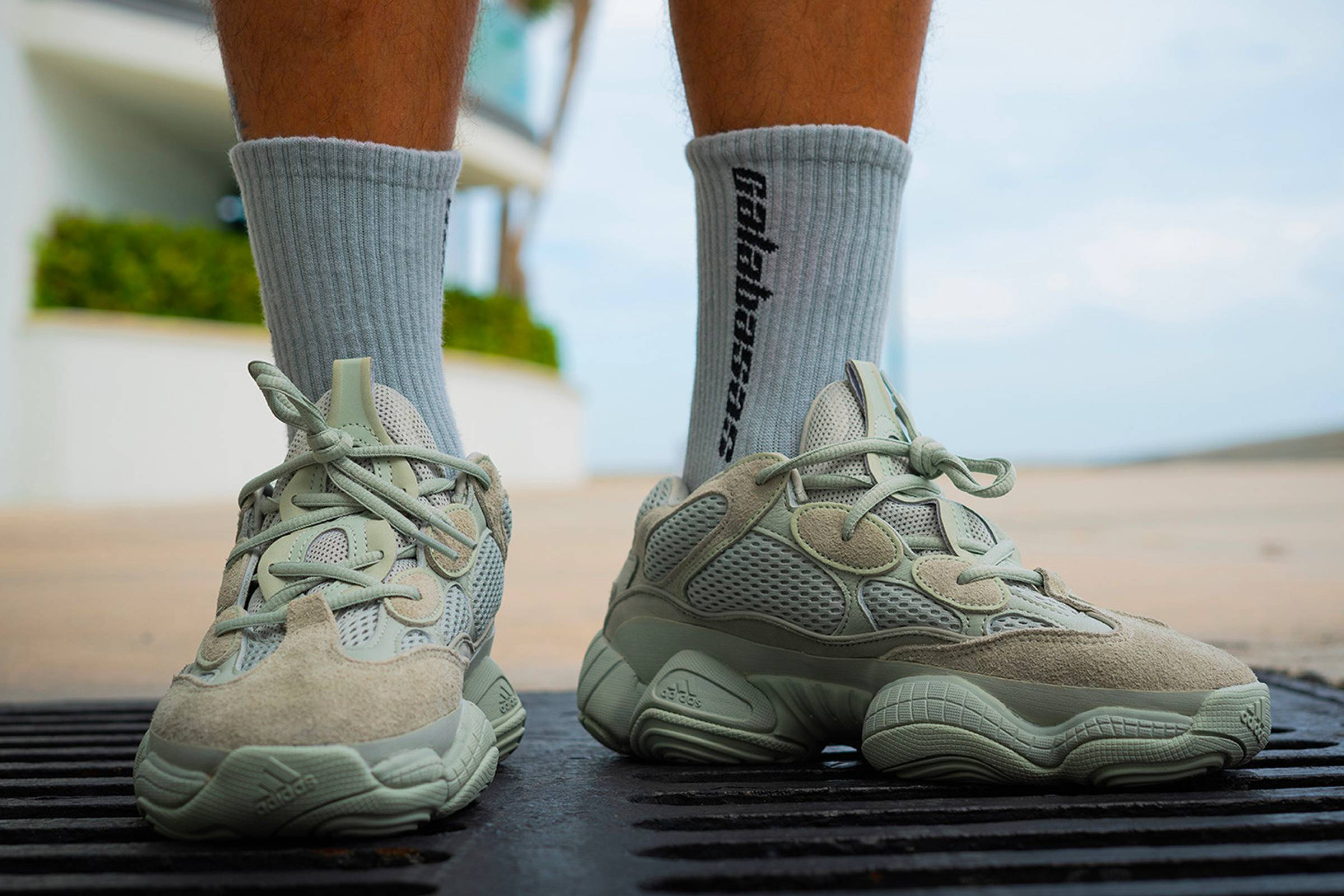 reputable site 0674d 73688 The Yeezy 500 Salt Drops This Friday | Grailed