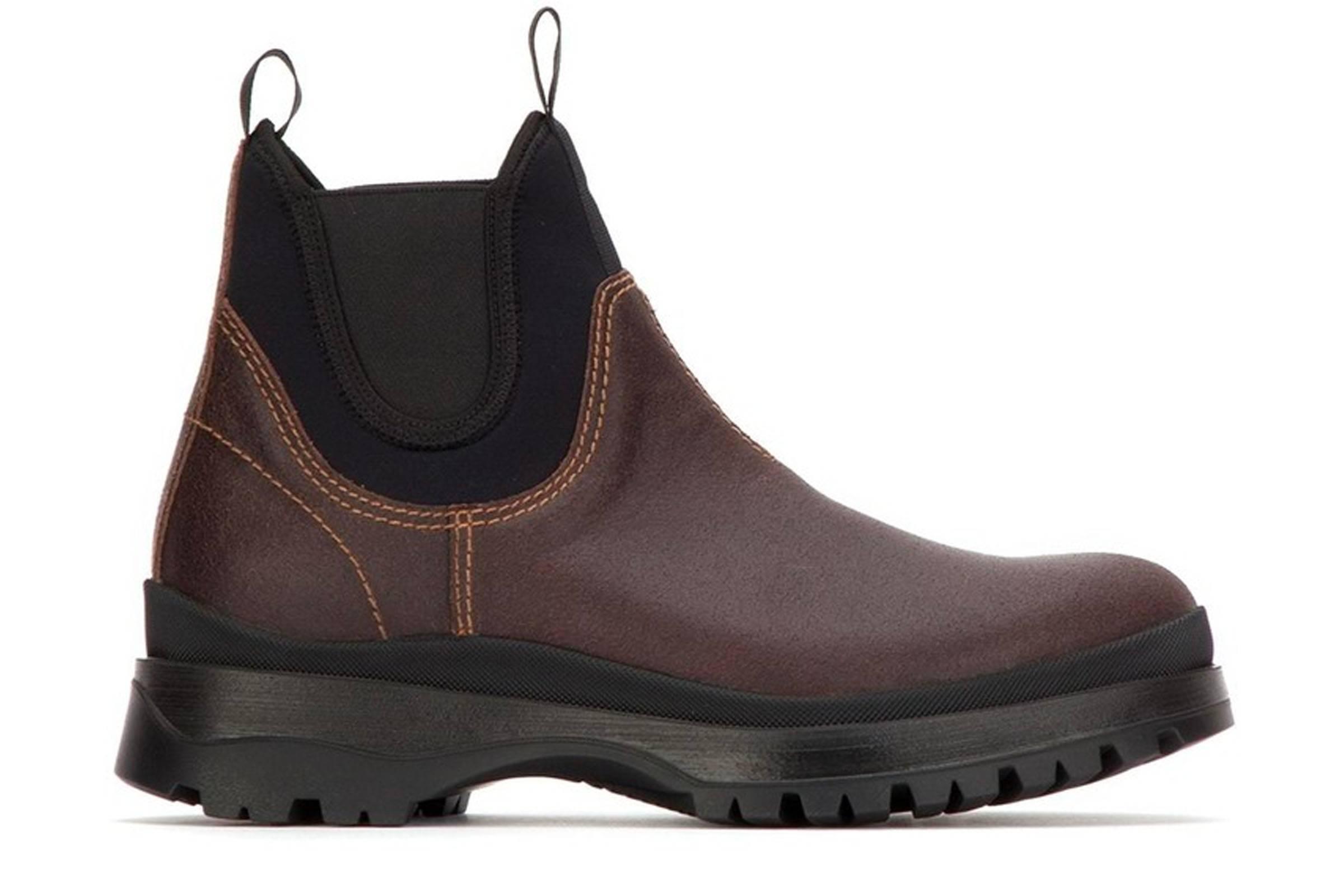 Prada Brixxen Chelsea Boots