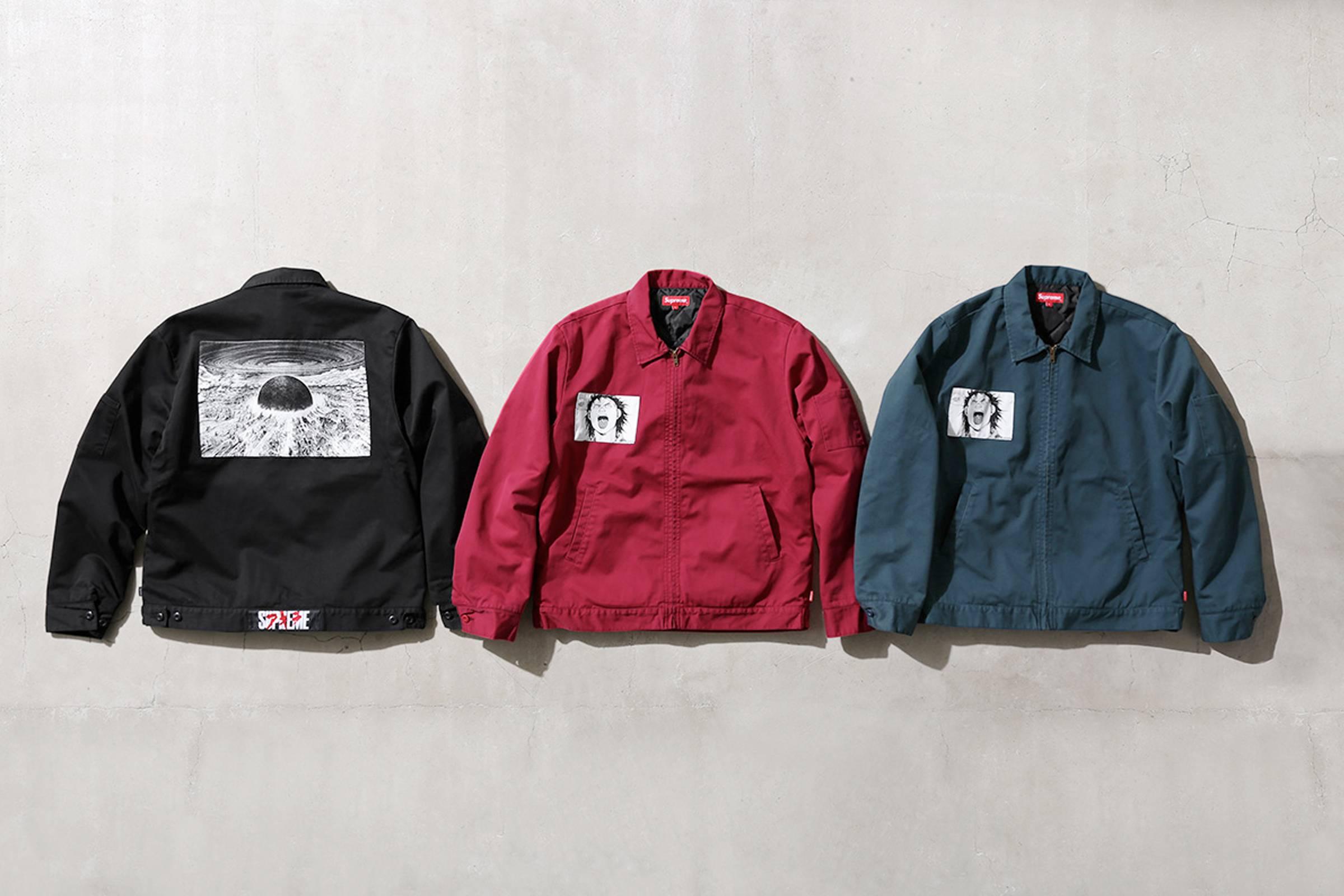 Supreme x Akira Work Jacket