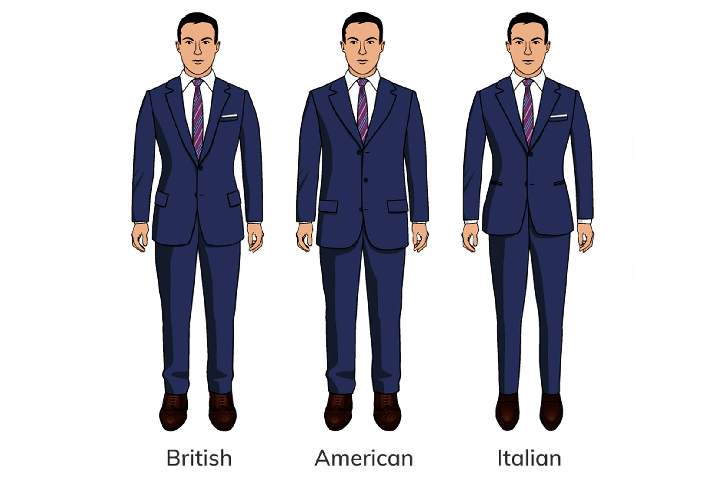 The International Styles of Suiting