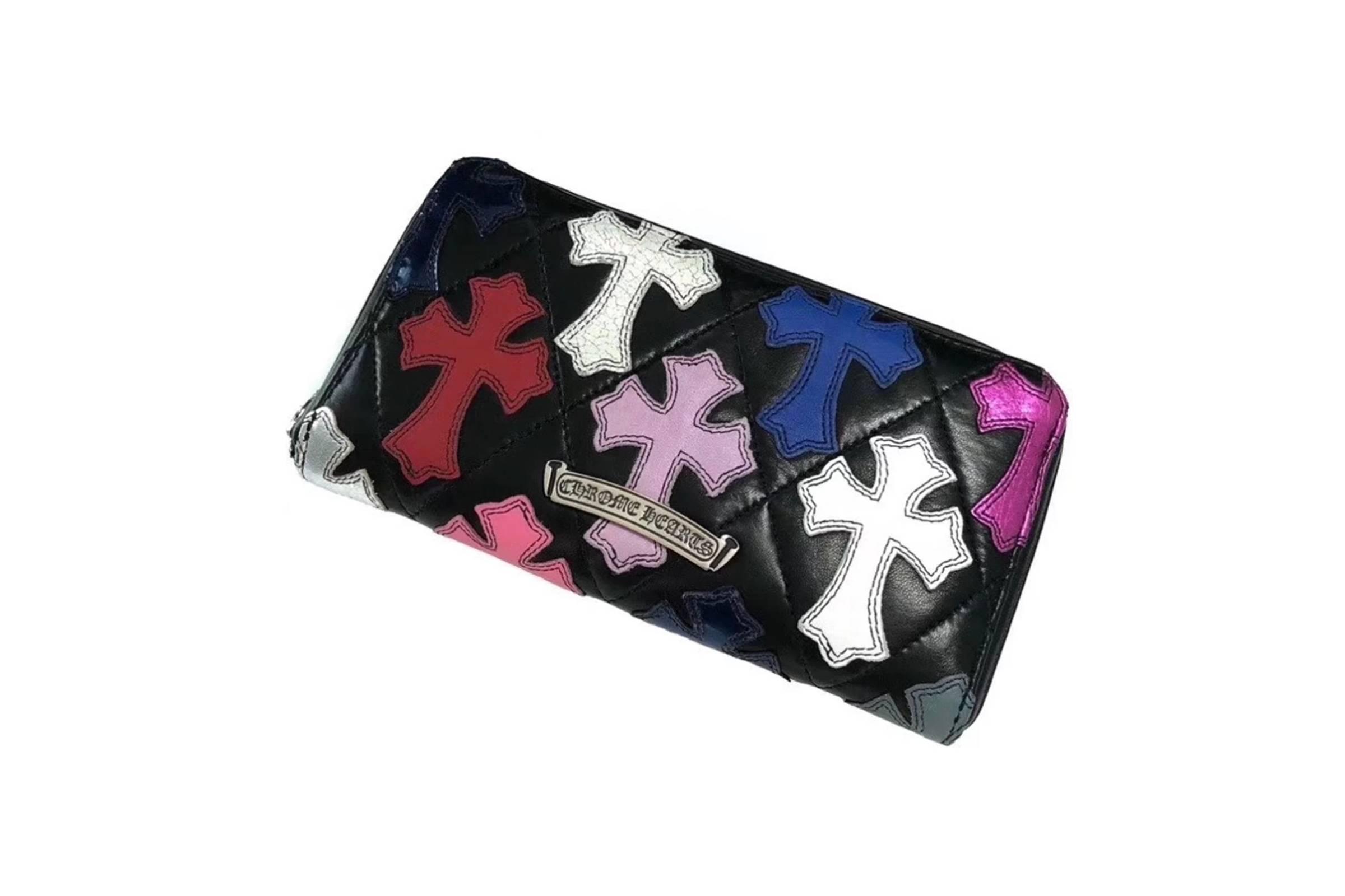 Chrome Hearts Multi-Color Cross Wallet