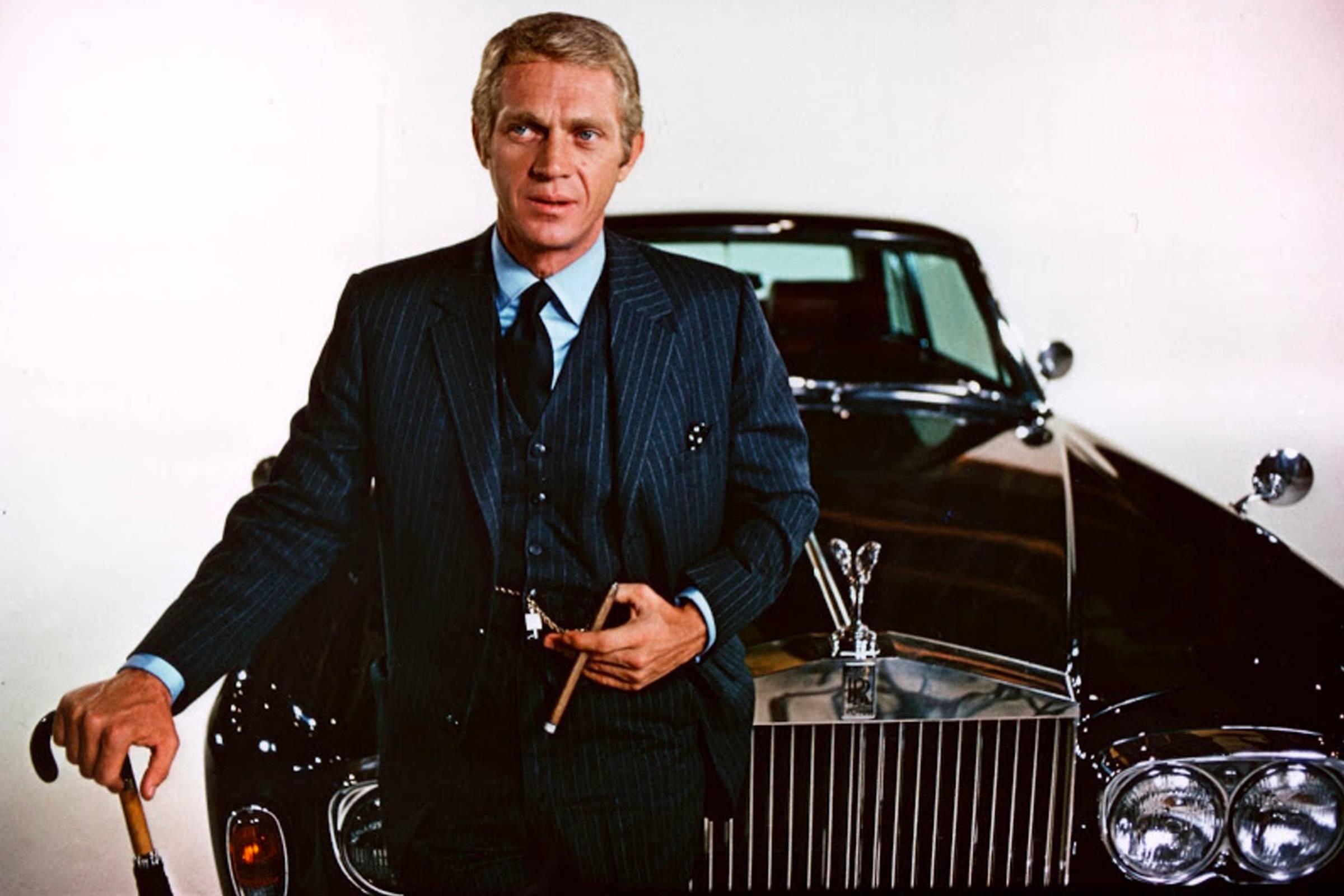 """Steve McQueen in """"The Thomas Crown Affair"""""""