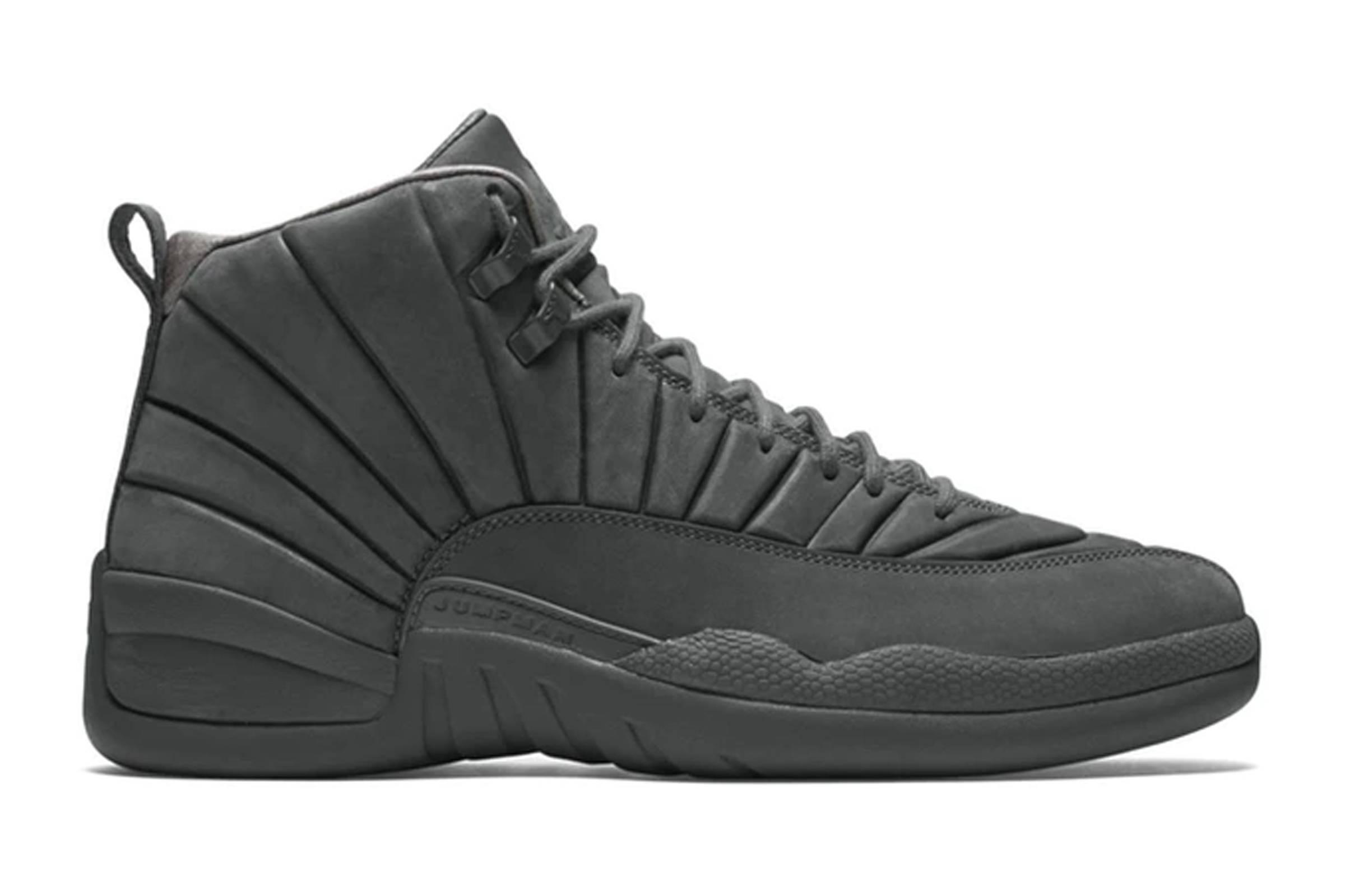 "Public School x Jordan XII ""Dark Grey"""