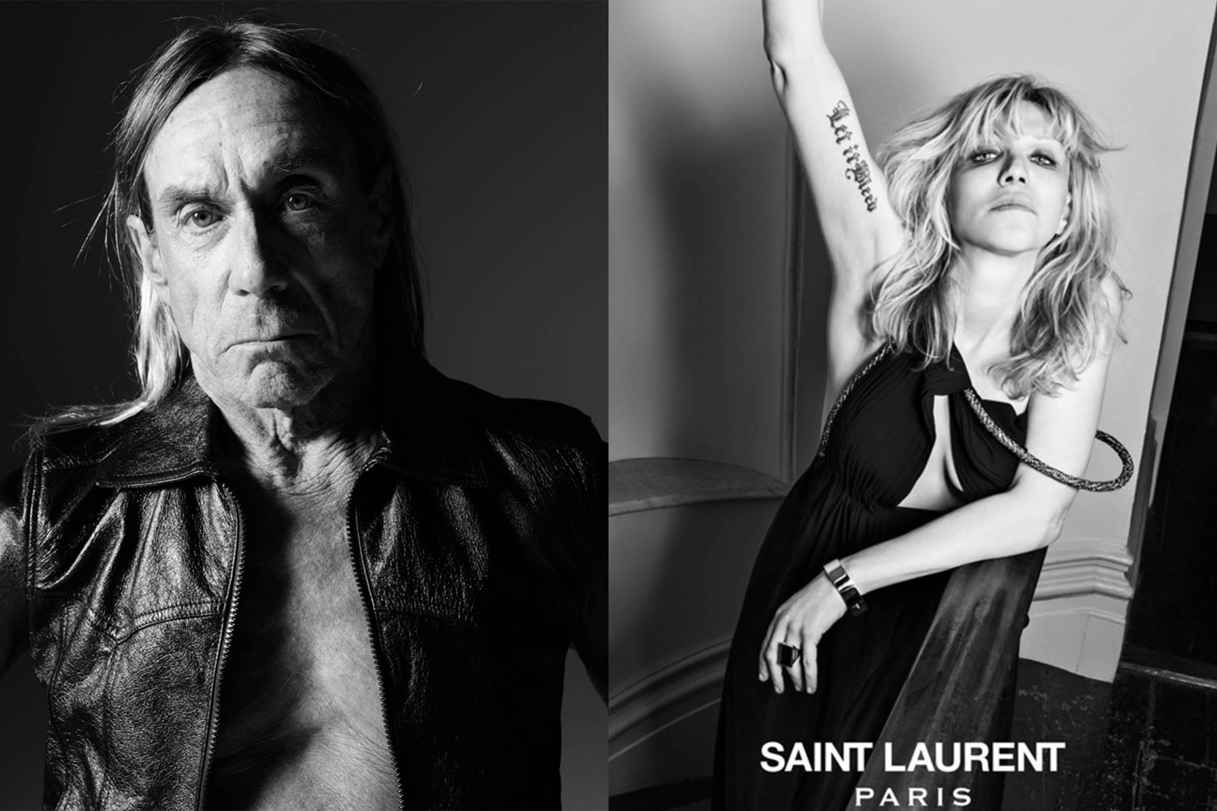 Saint Laurent Paris and Hedi Slimane