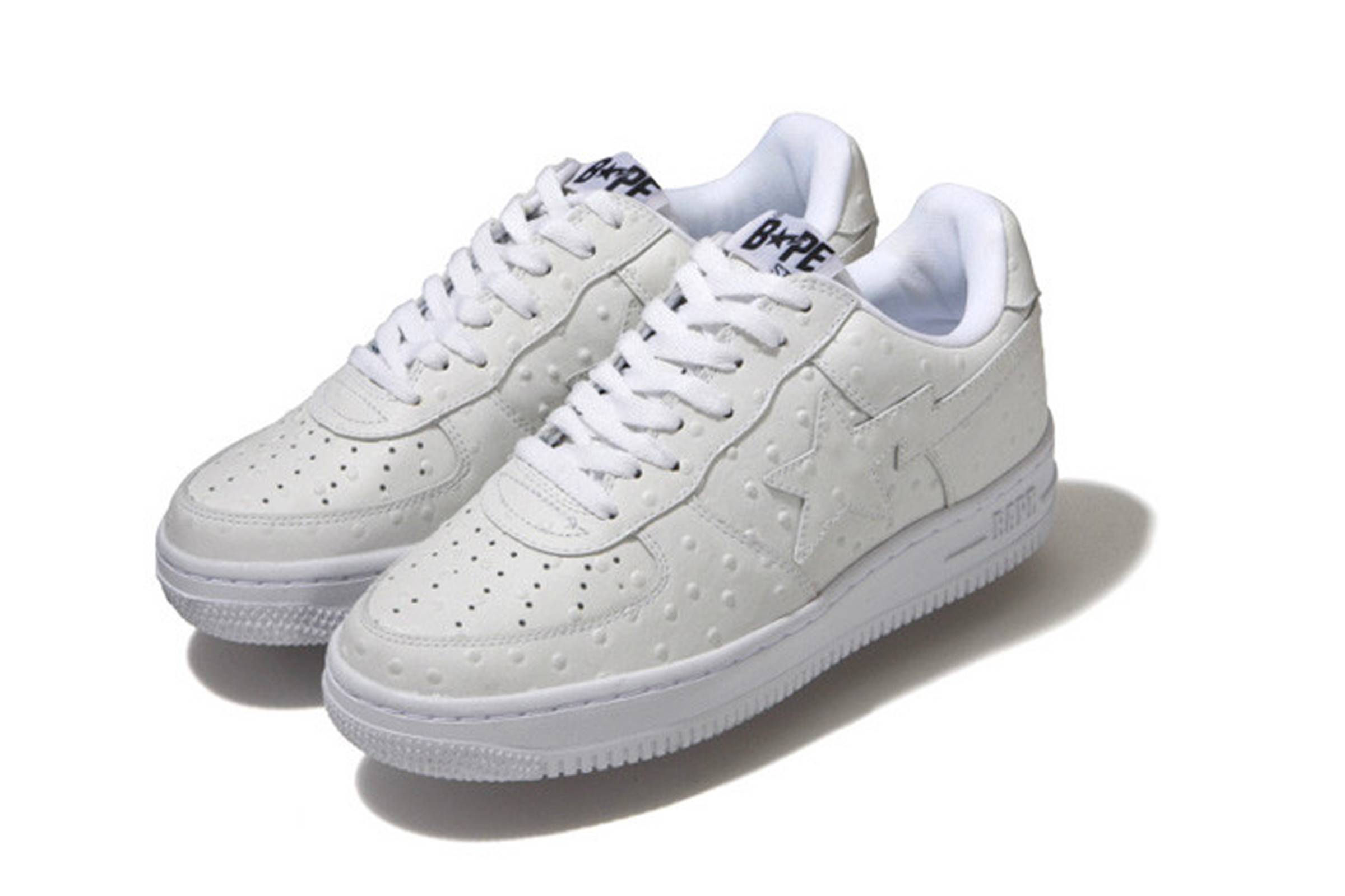 Ostrich Leather Bapesta (2009)