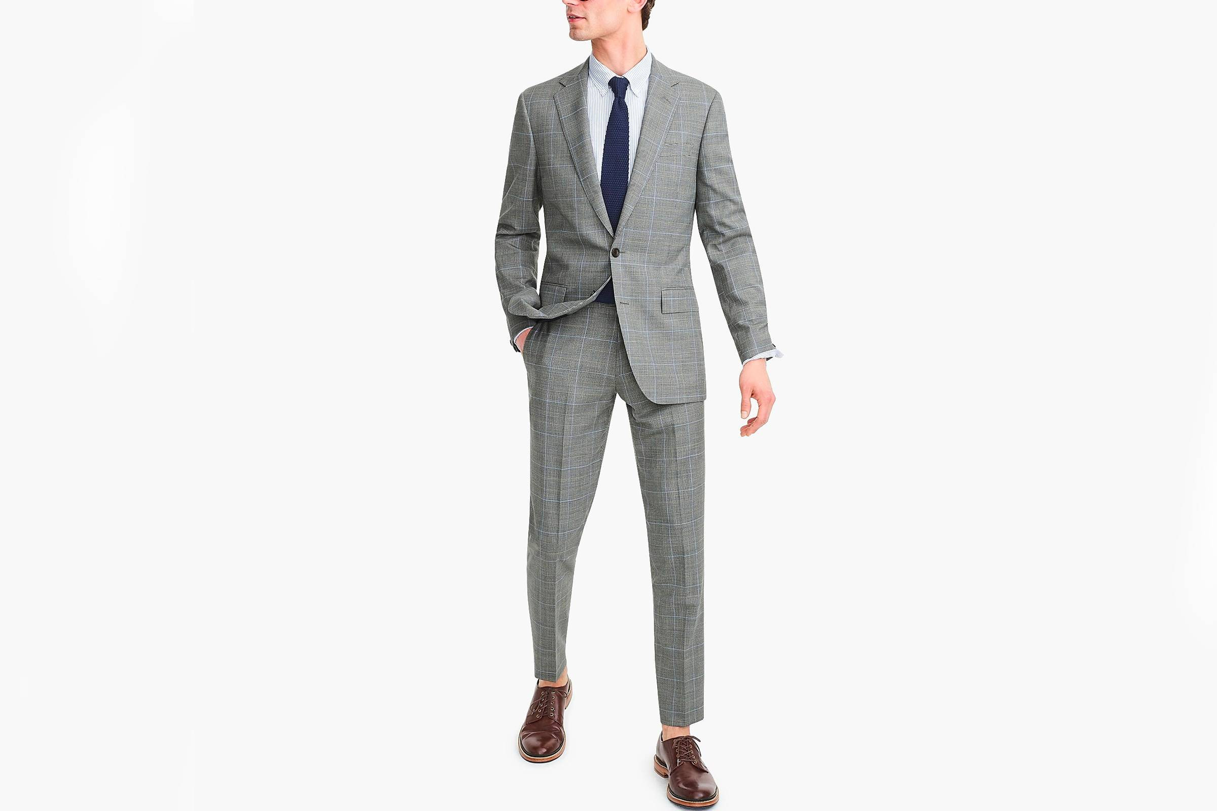 Types of Suits: Patterned Check Suit