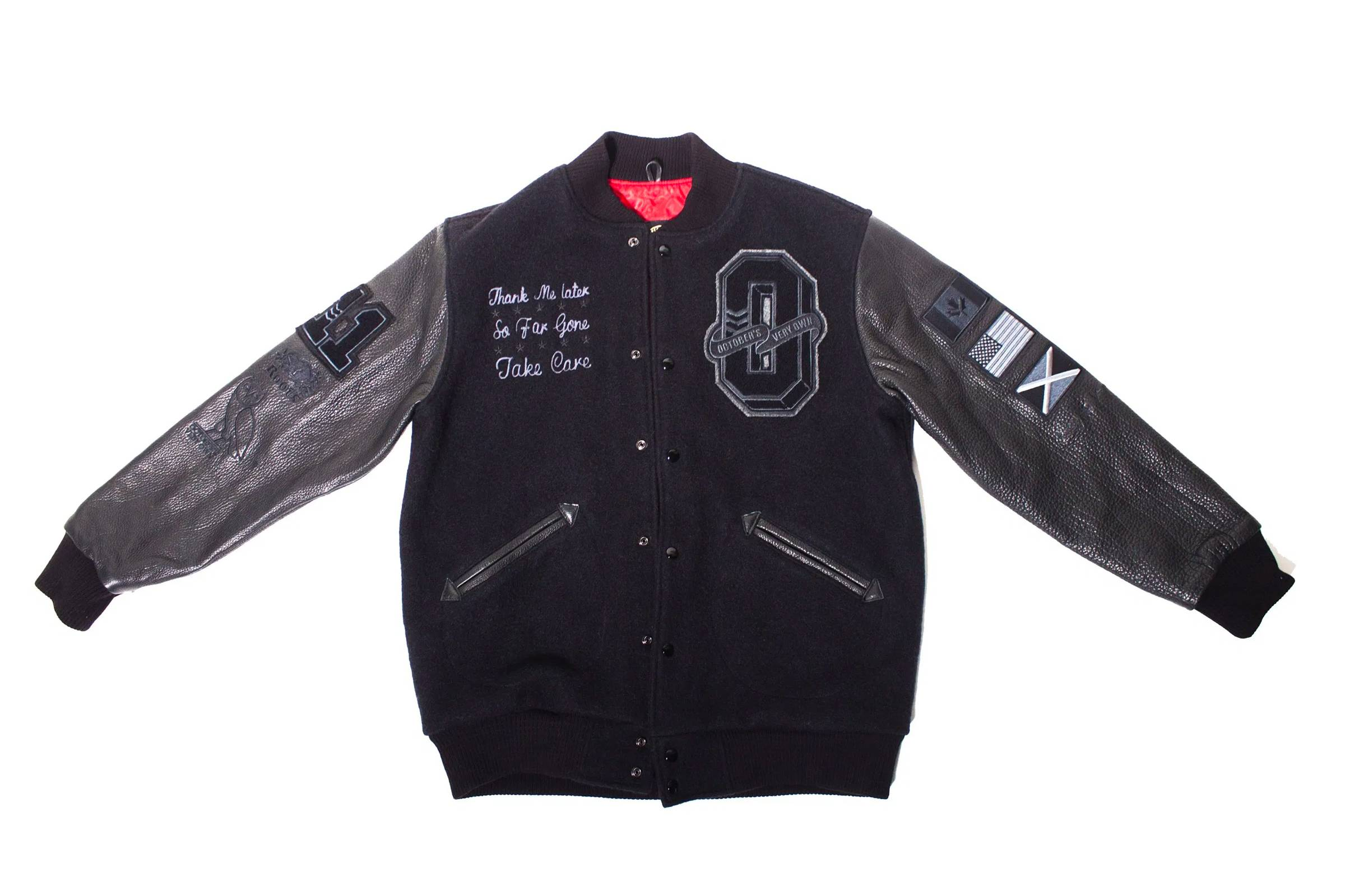 October's Very Own x Roots Varsity Jacket