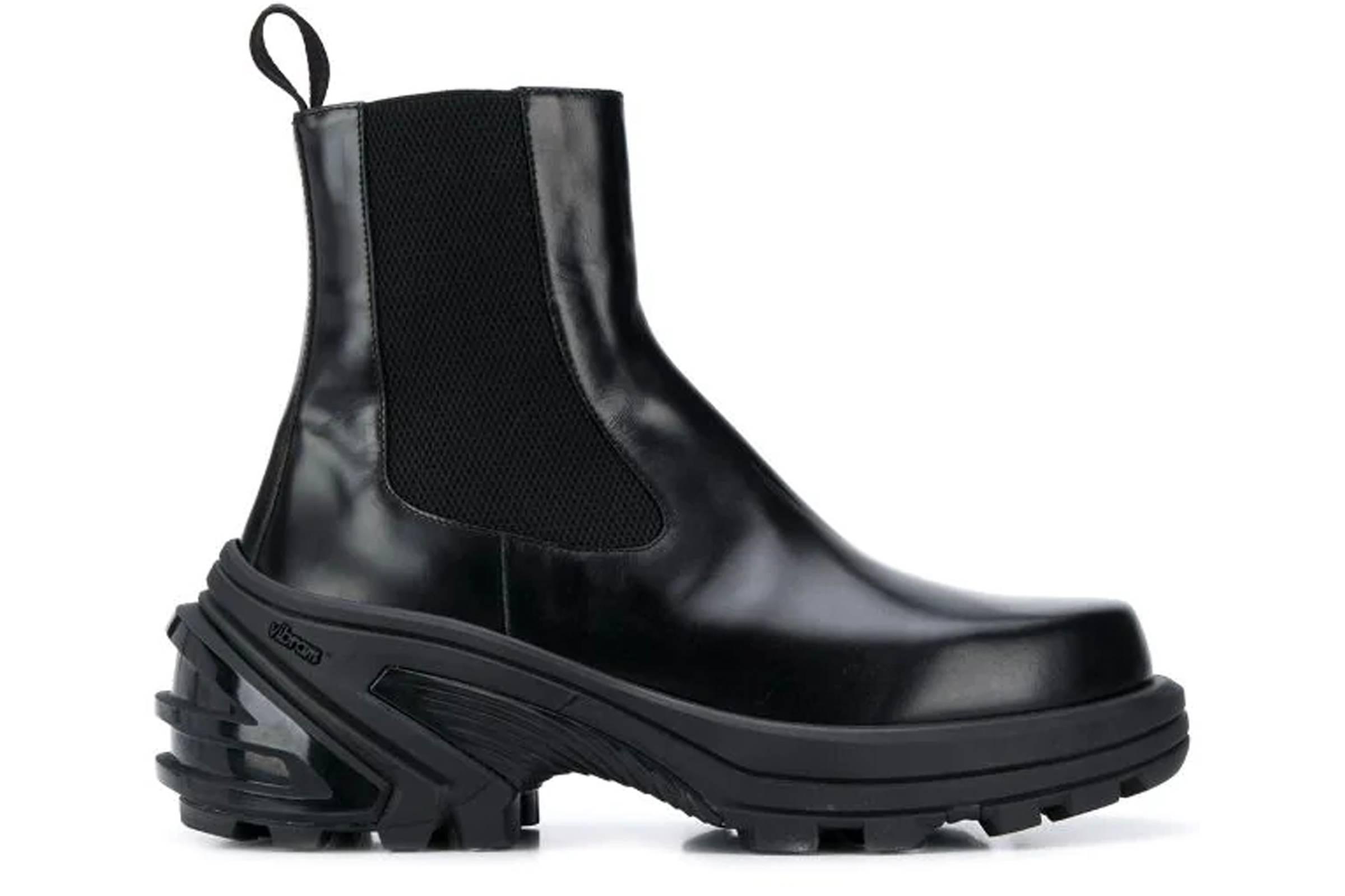 1017 ALYX 9SM Detachable Vibram Outsole Chelsea Boot