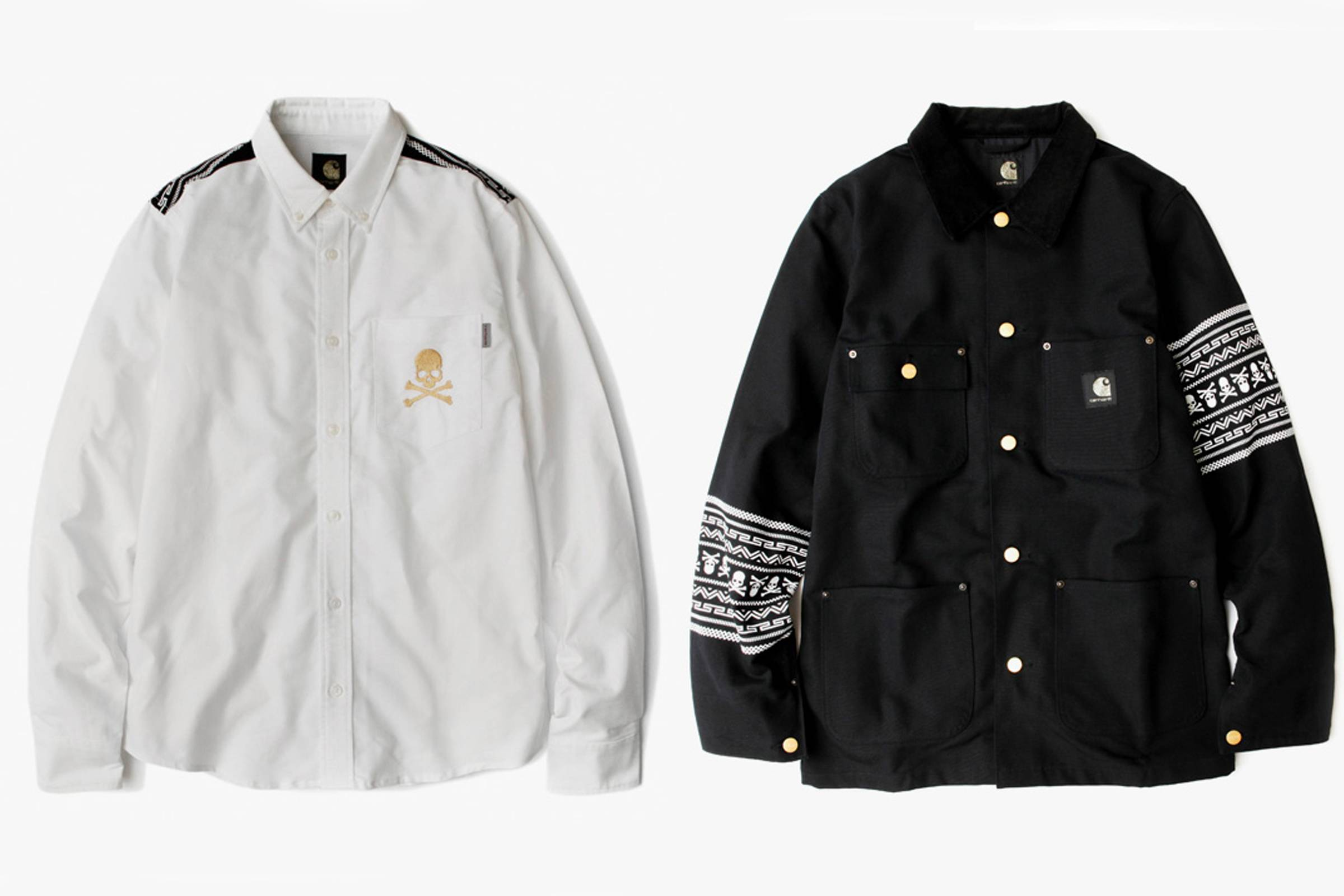 dc079e14 Carhartt W.I.P. and mastermind JAPAN had teamed up prior to 2013, but the  Fall 2013 collection was supposed to be the final instalment of the  collaborative ...