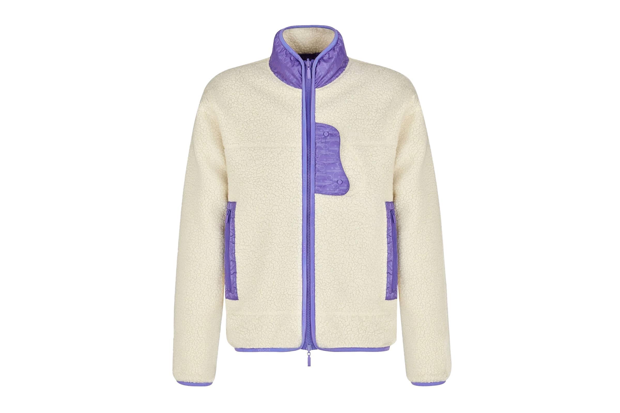Dior Reversiblle Oblique Fleece Jacket