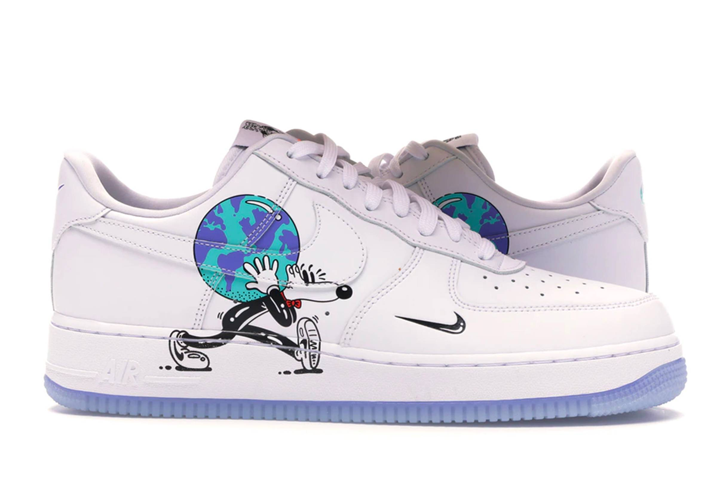 "Steven Harrington x Nike Air Force 1 Low Flyleather QS ""Earth Day"""