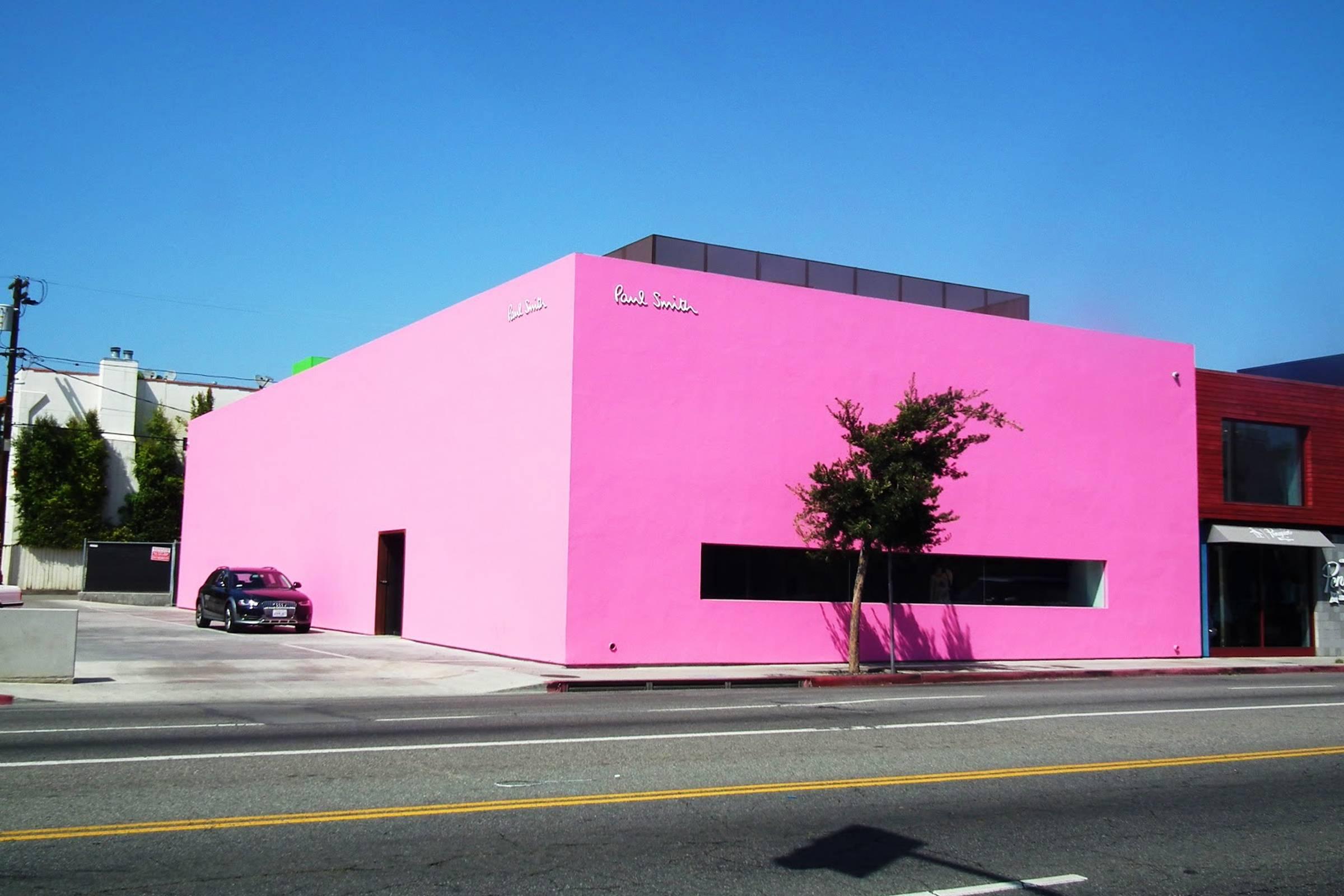 Paul Smith's Los Angeles Retail Location