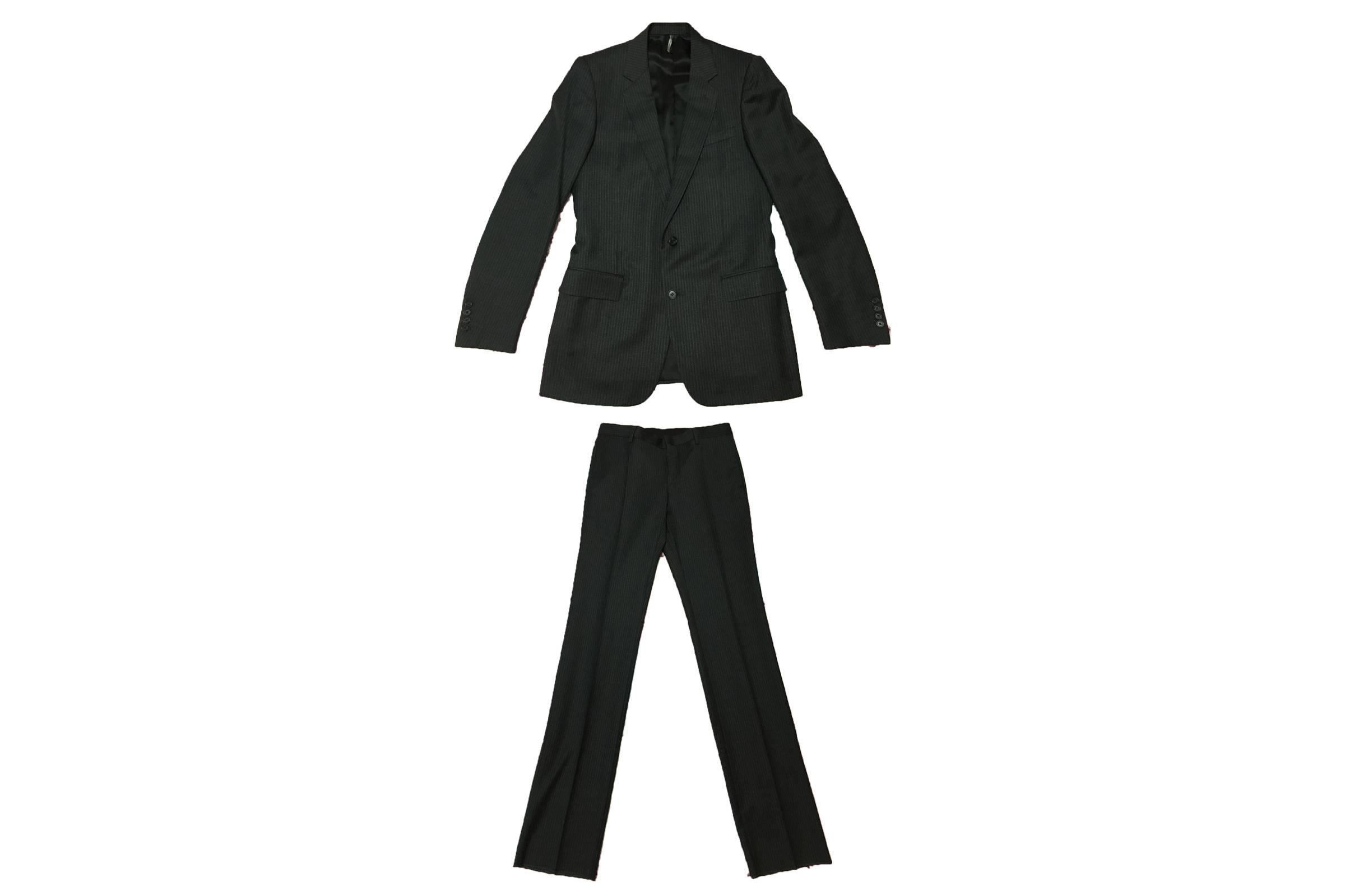 Dior Homme Pinestripe Suit