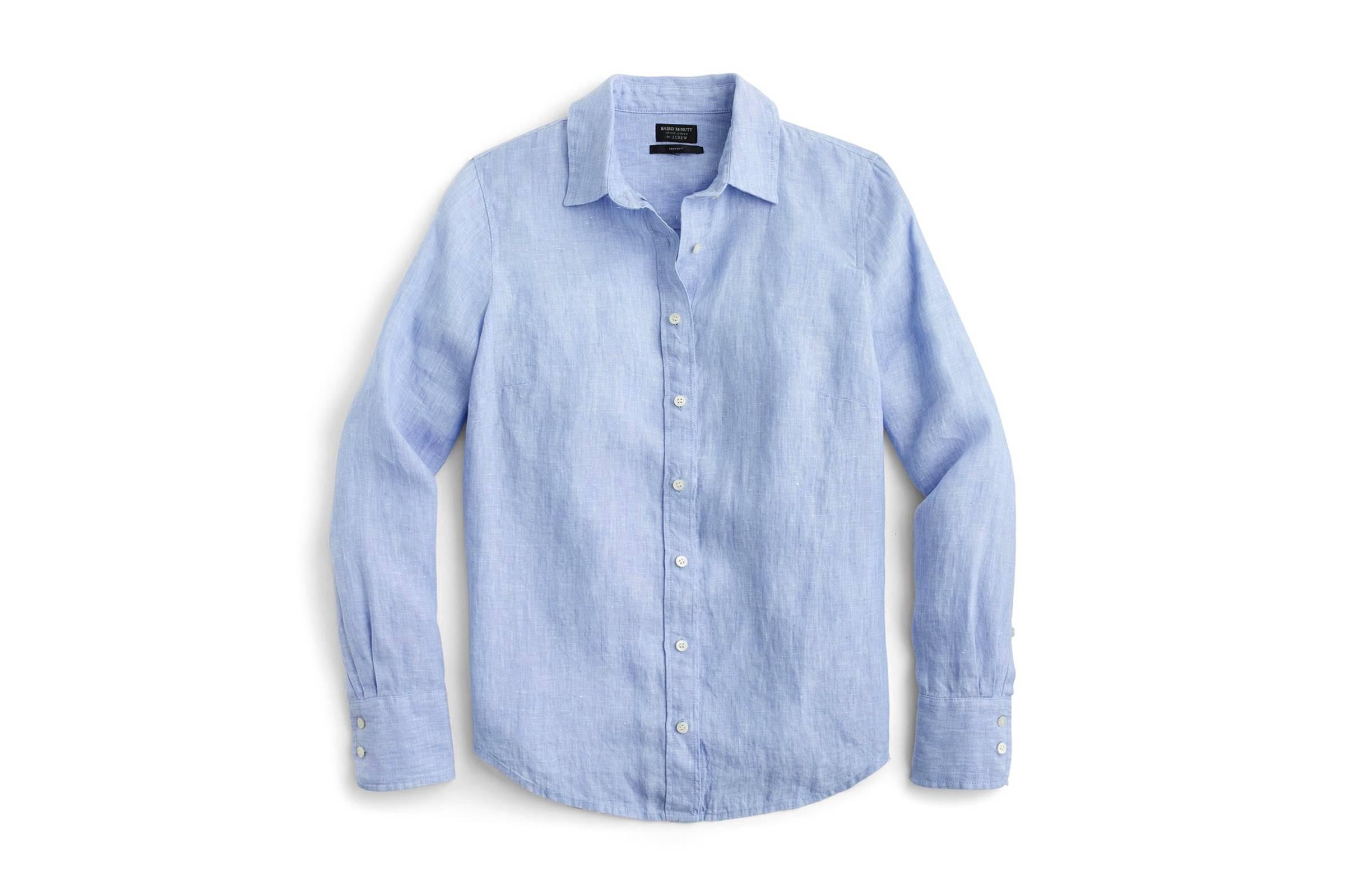 J. Crew Slim Baird McNutt Irish Linen Shirt
