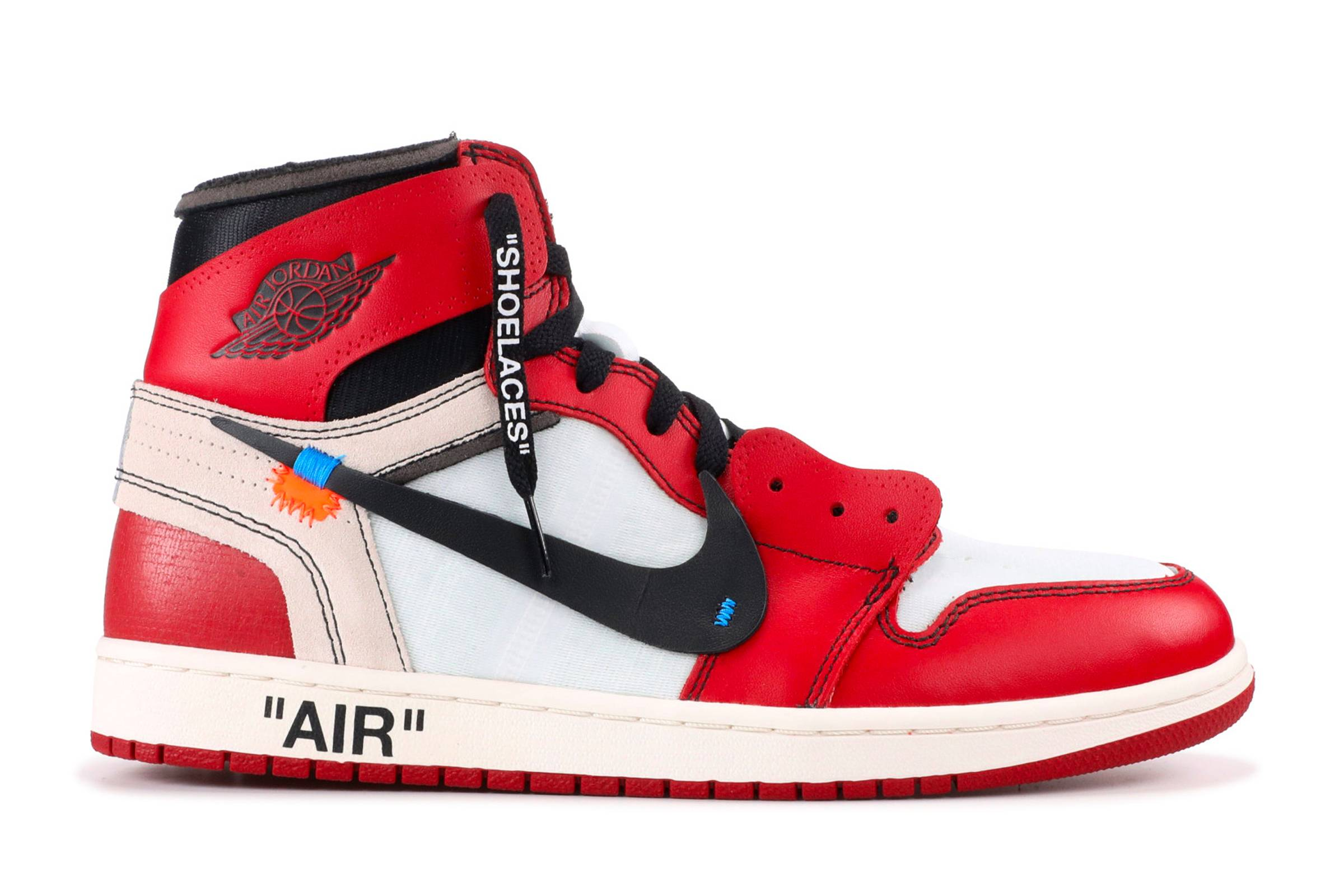 "Off-White x Nike Air Jordan 1 ""Chicago"""