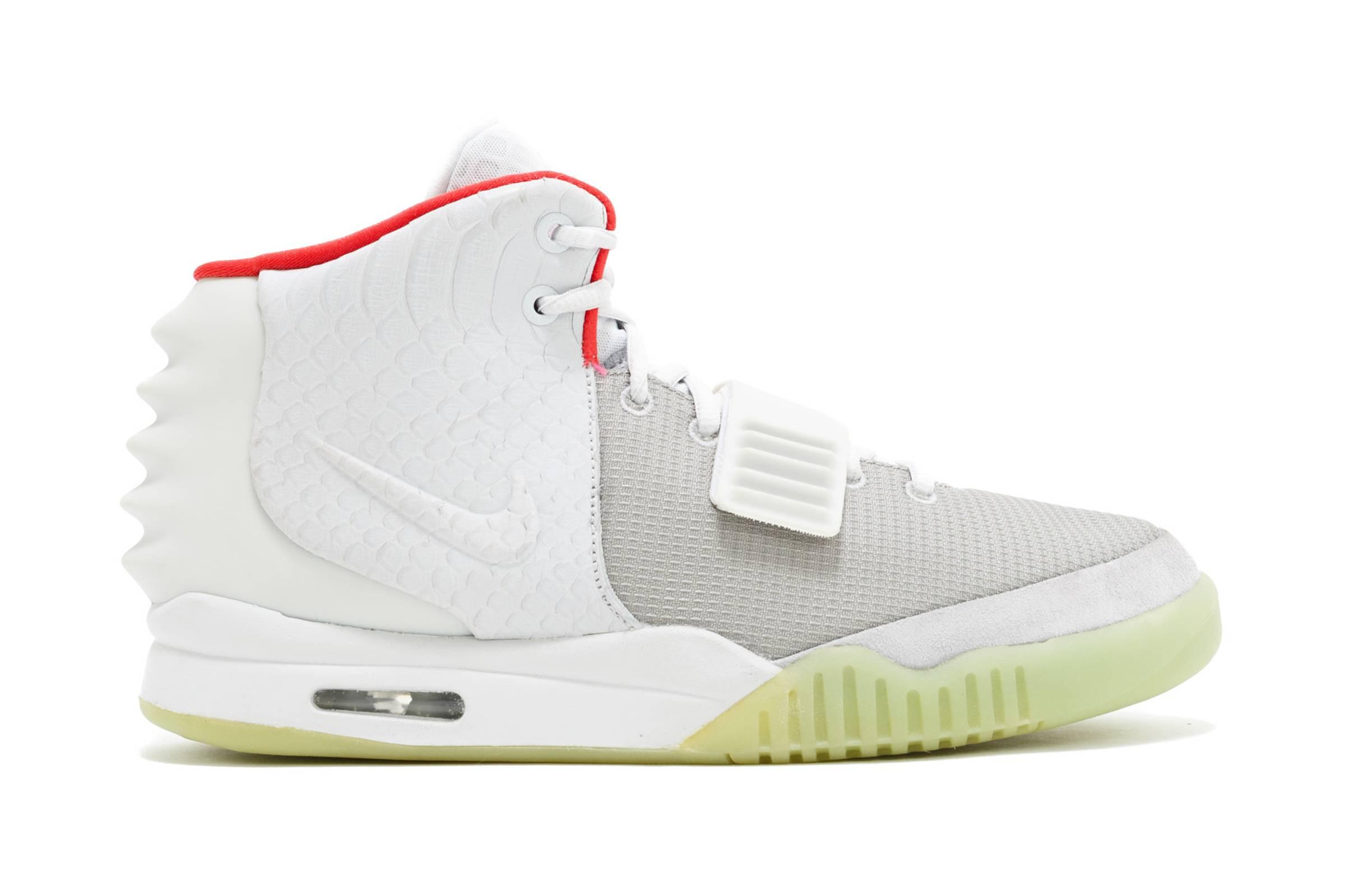 "Kanye West x Nike Air Yeezy II ""Pure Platinum"""