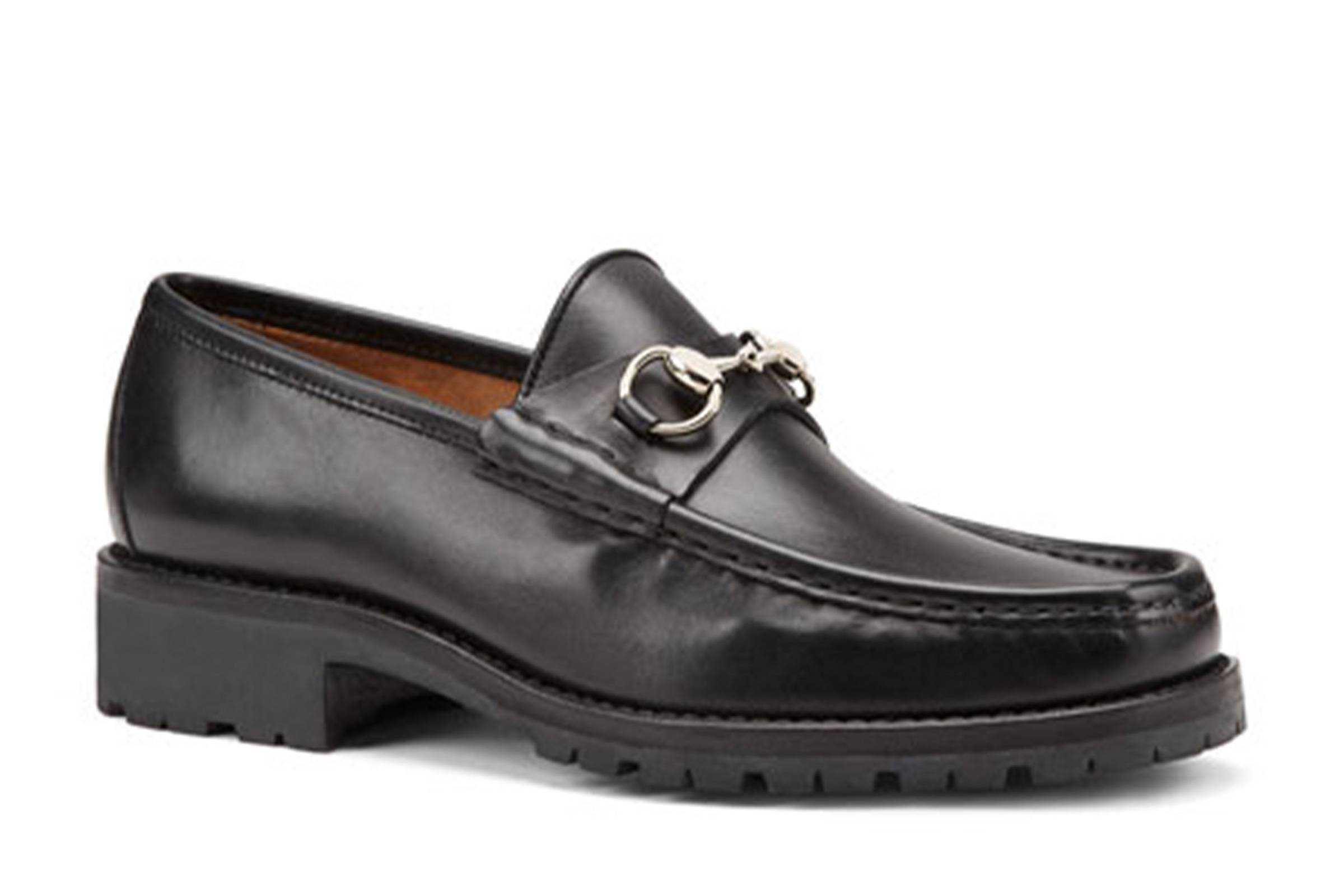 Gucci Horsebit Lug Sole Loafers