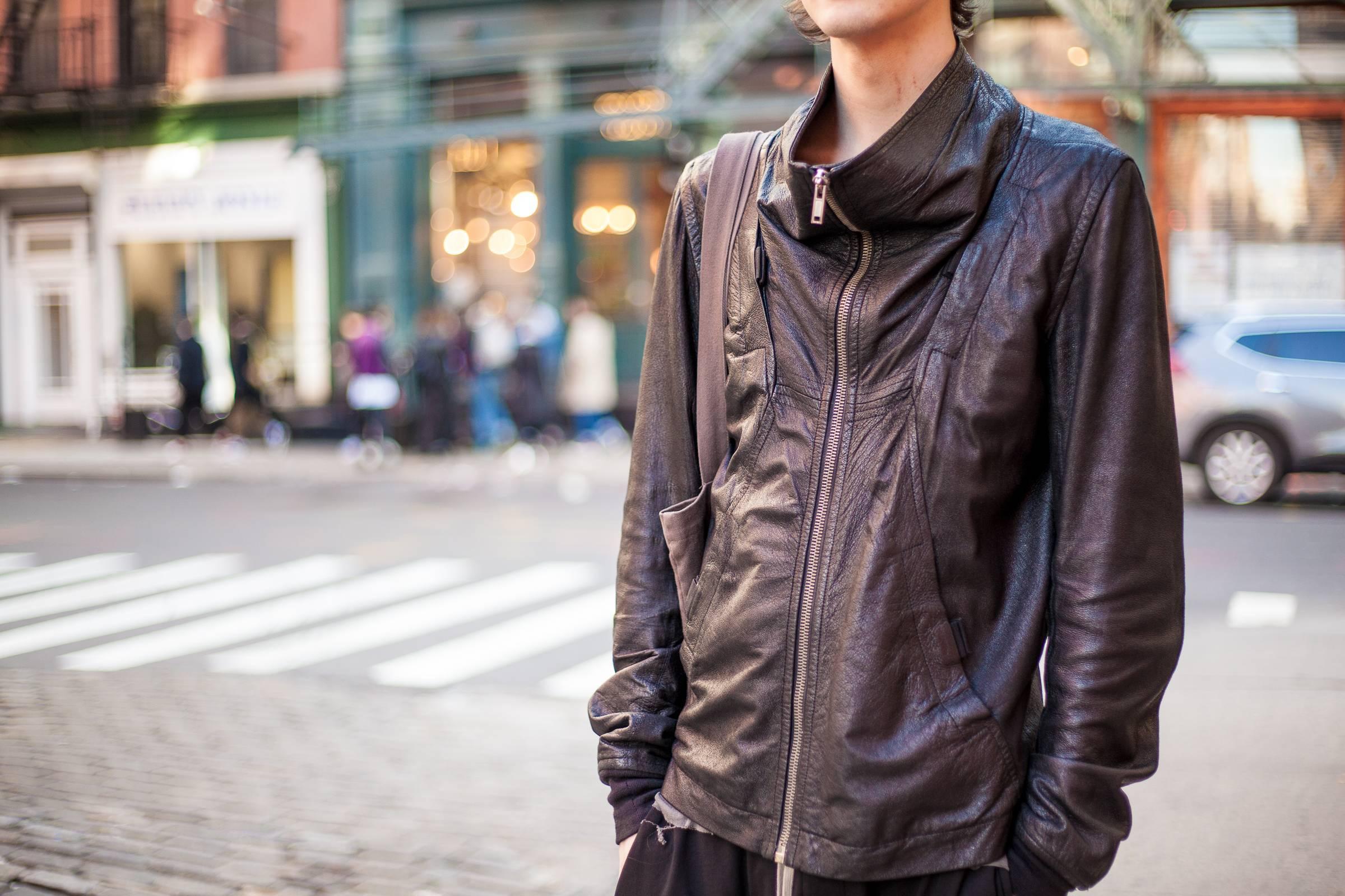 """Hide"" and Seek: Yohji, Rick, Margiela and CdG Leather Jackets Under $500"