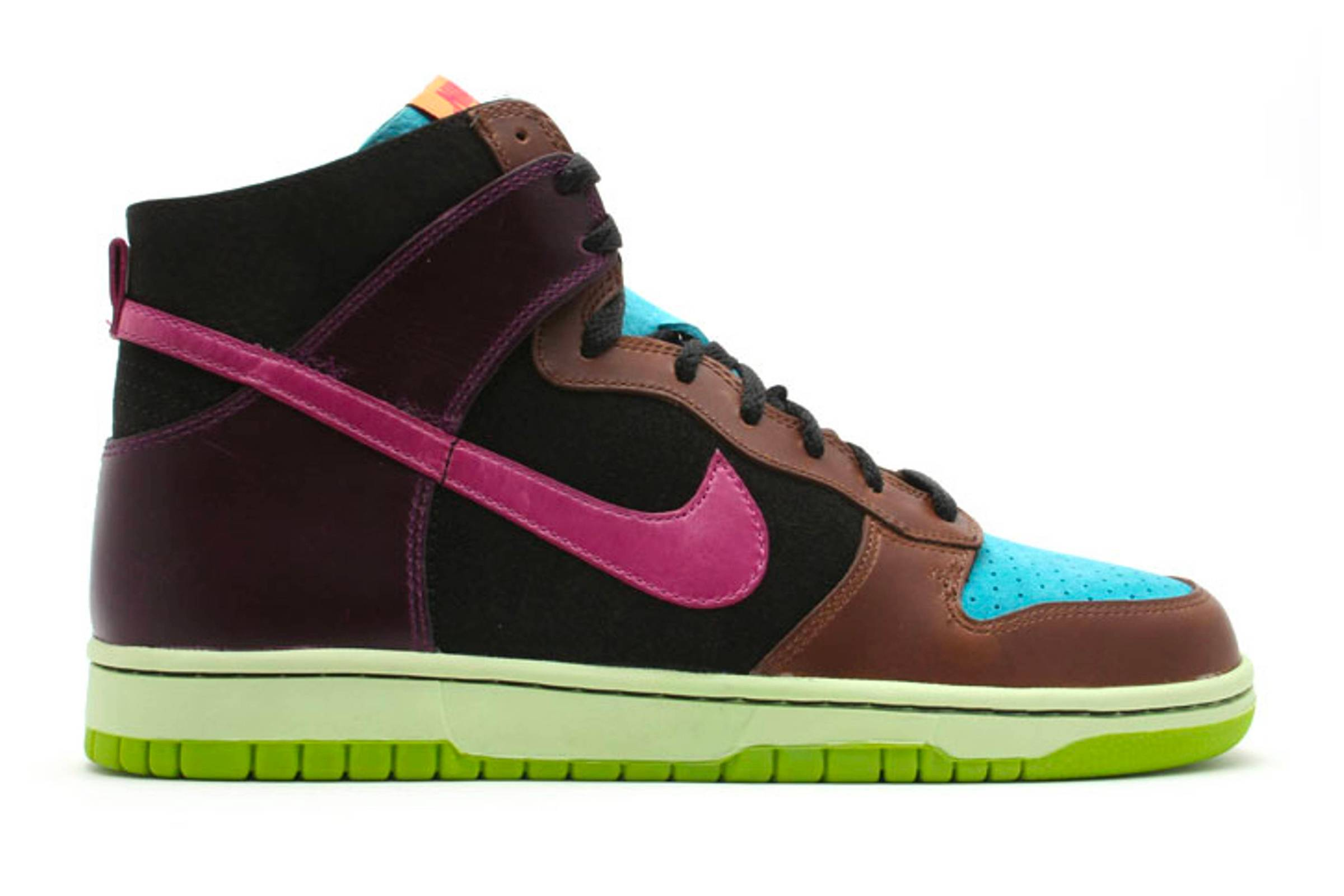 Undefeated x Nike Dunk High NL