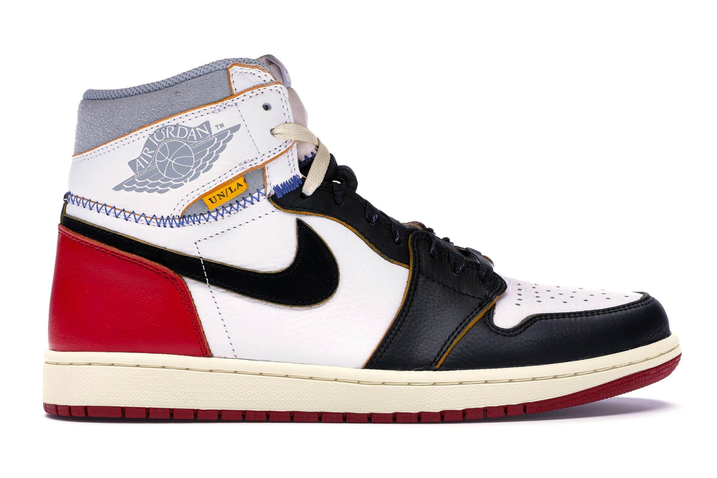 """Union x Jordan I """"Black Toe"""""""