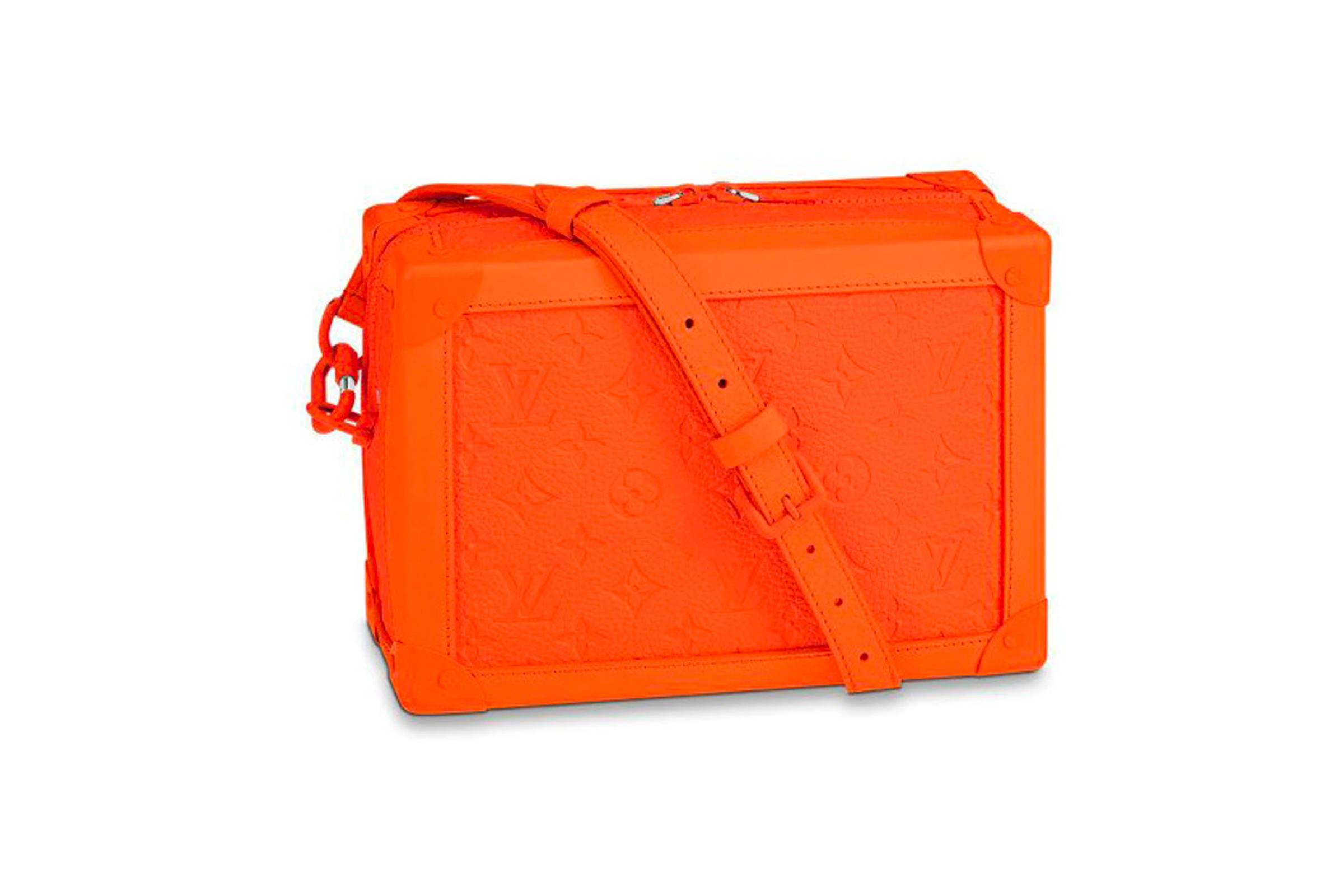 Louis Vuitton Soft Trunk Monogram MCA Orange