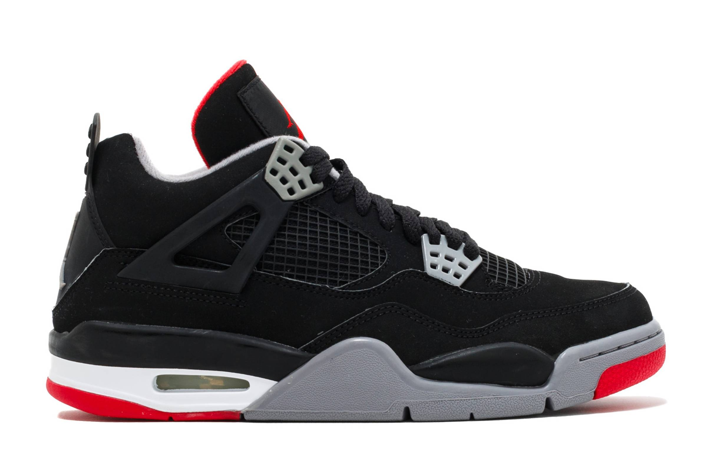 "c728bec89e2c That s exactly the case with the Air Jordan IV ""Black Red."" While the White Cement  IV may have ..."