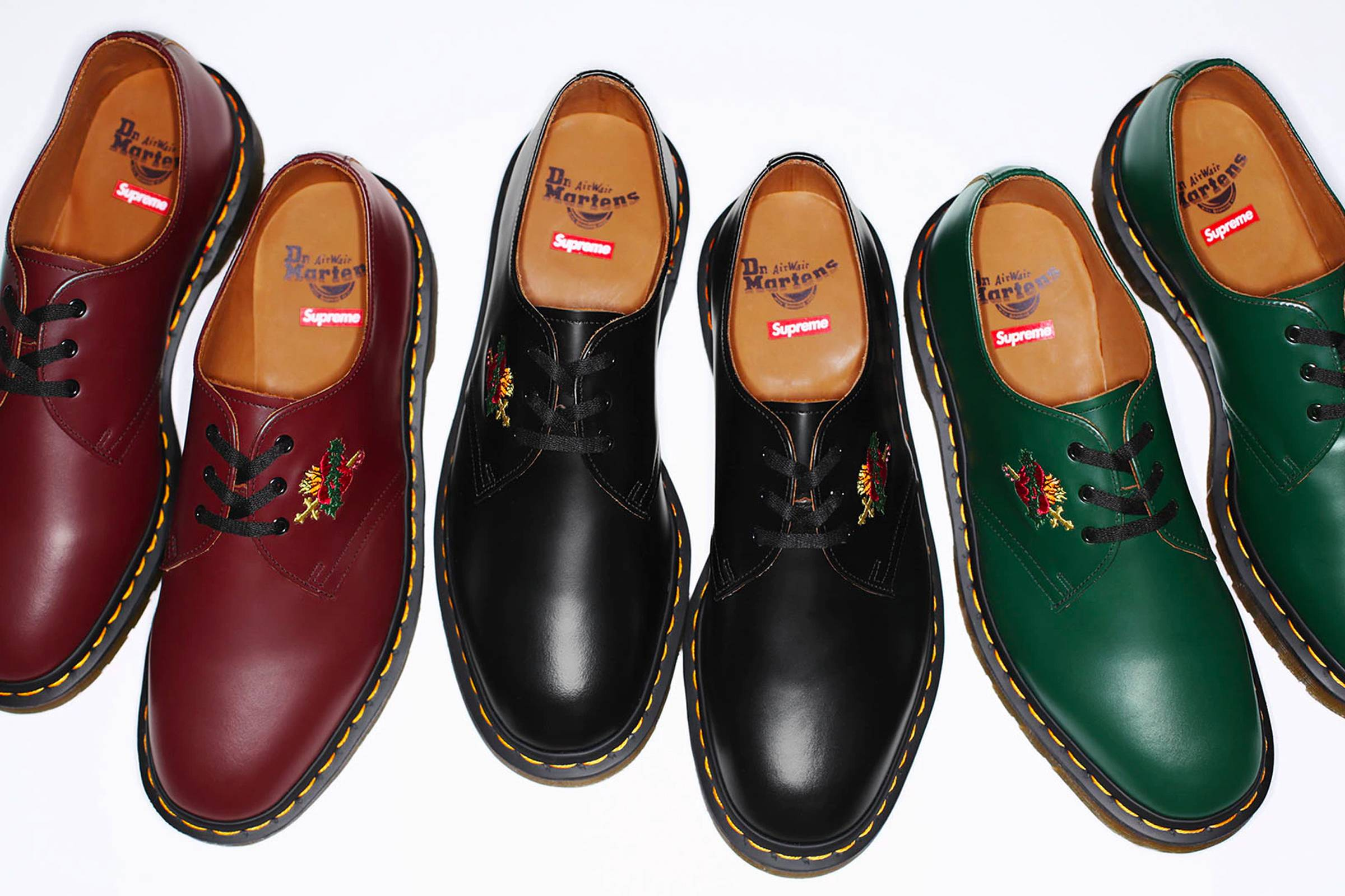 "Supreme x Dr. Martens ""Sacred Heart"" 1461 low boot"