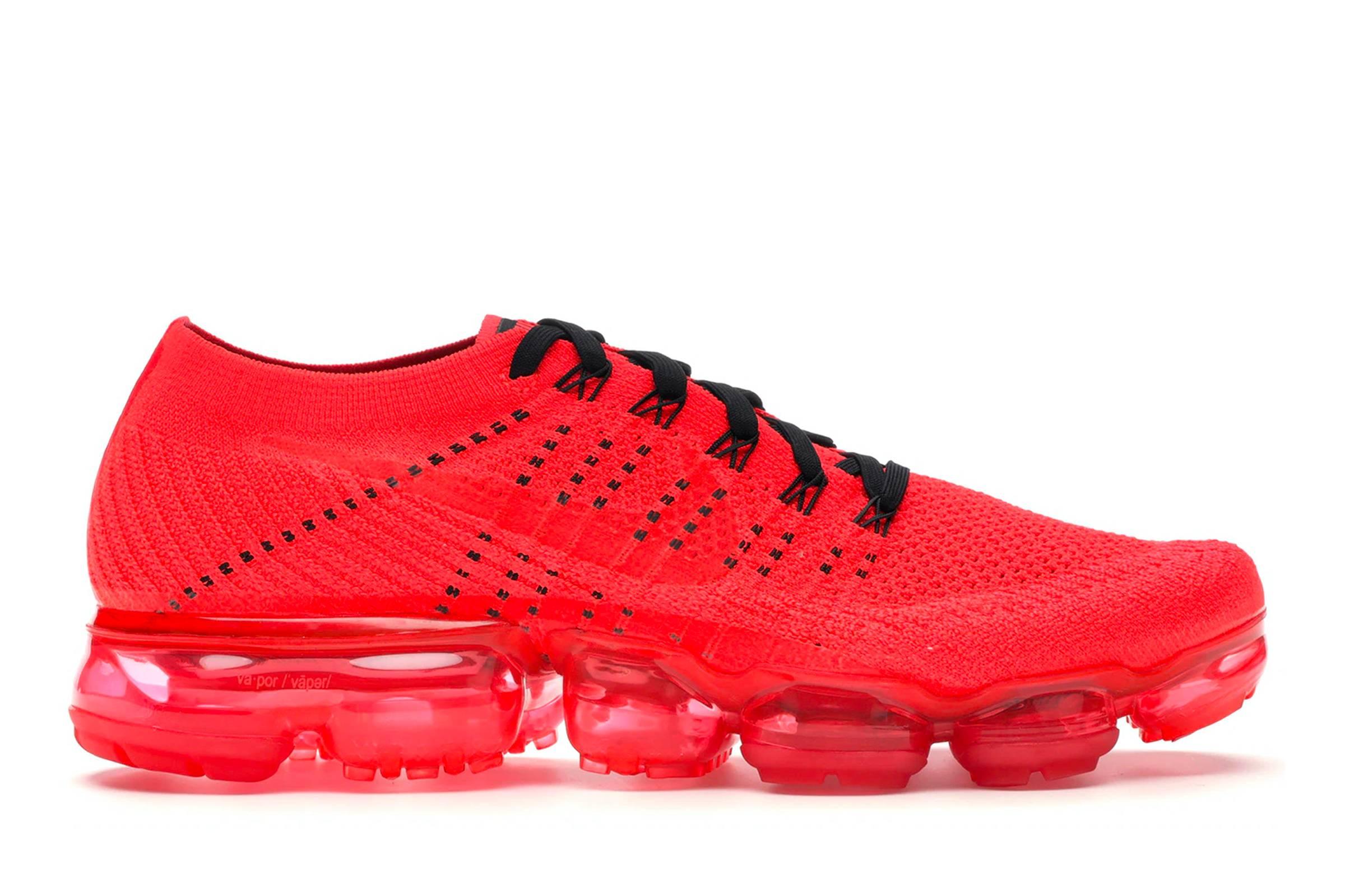 "CLOT x Nike VaporMax ""Bright Crimson"""